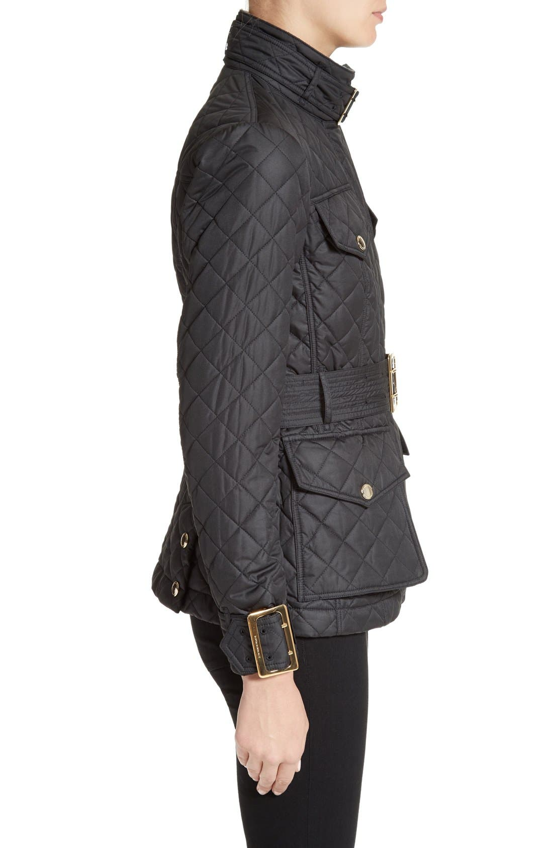 Alternate Image 5  - Burberry Haddingfield Quilted Field Jacket