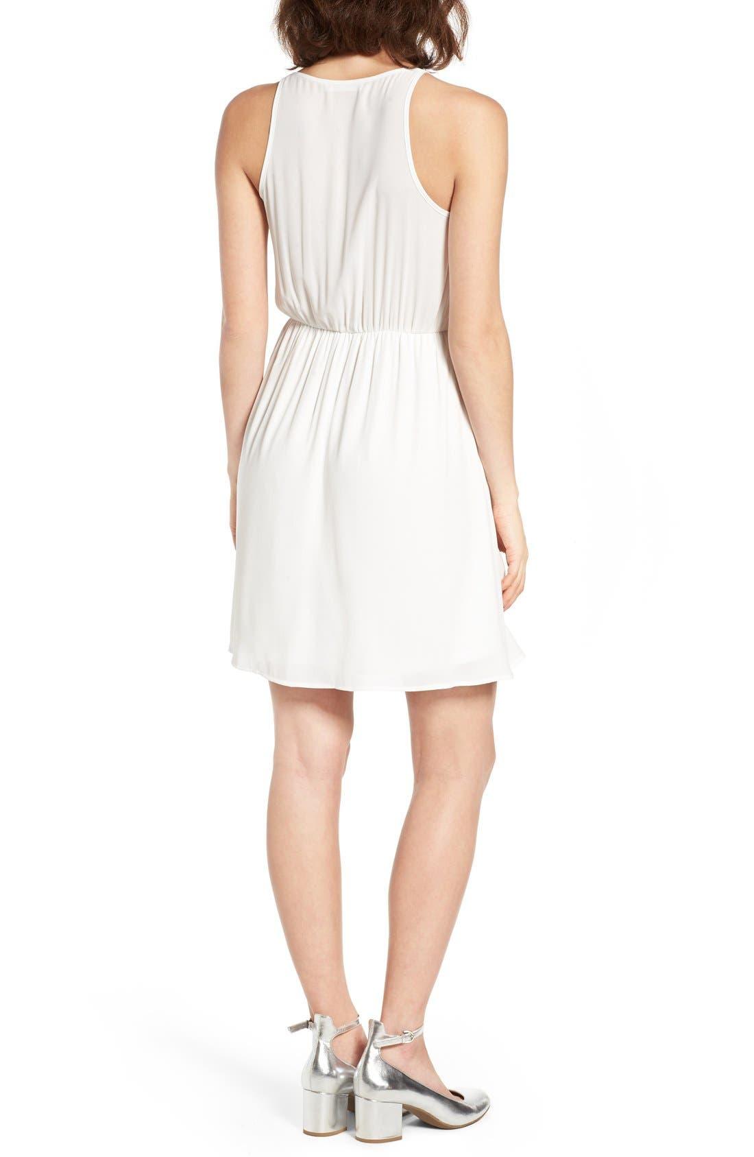 Alternate Image 2  - Lush Surplice Camisole Dress