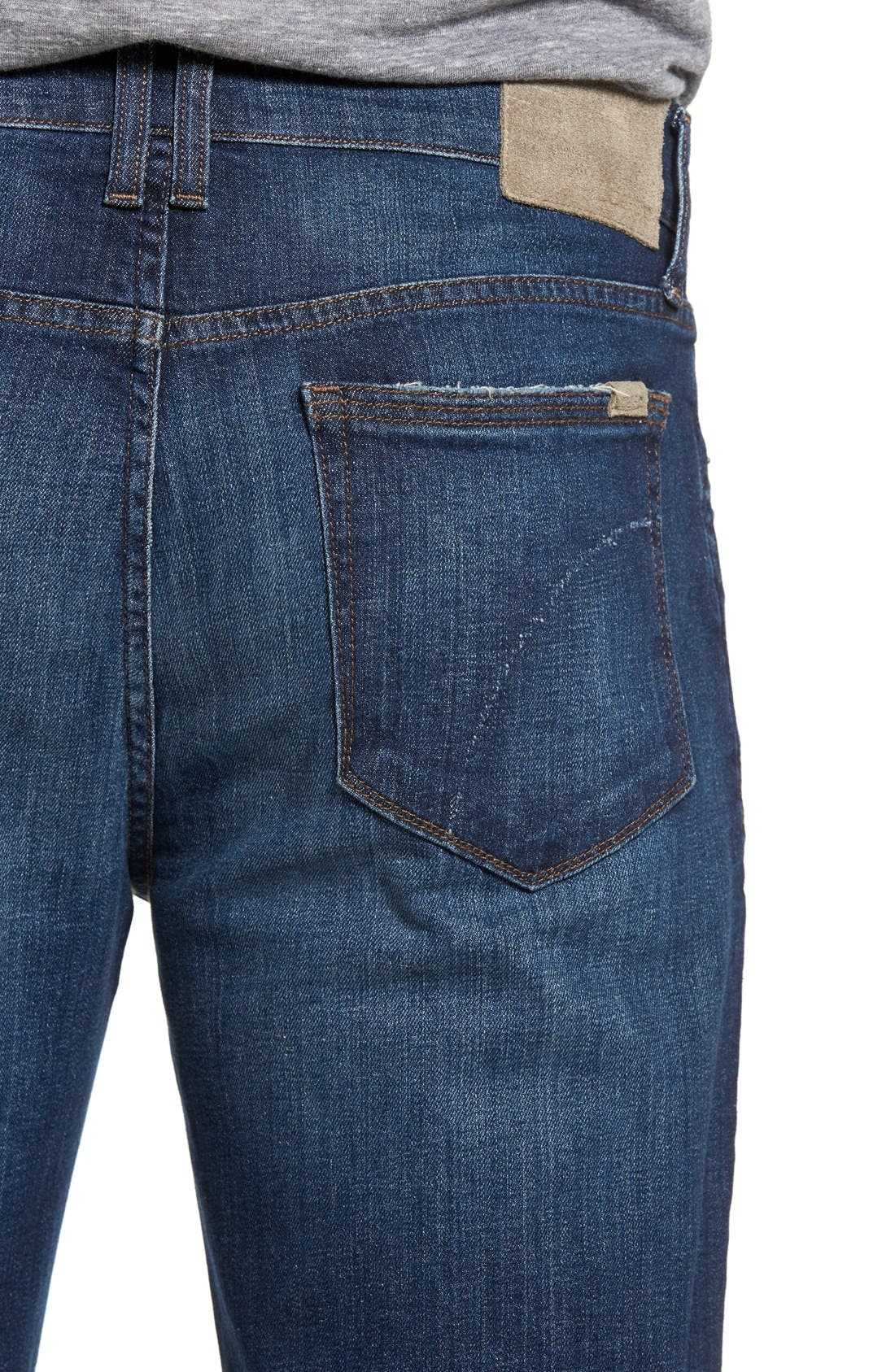 Alternate Image 4  - Joe's Rebel Relaxed Fit Jeans (Kane)