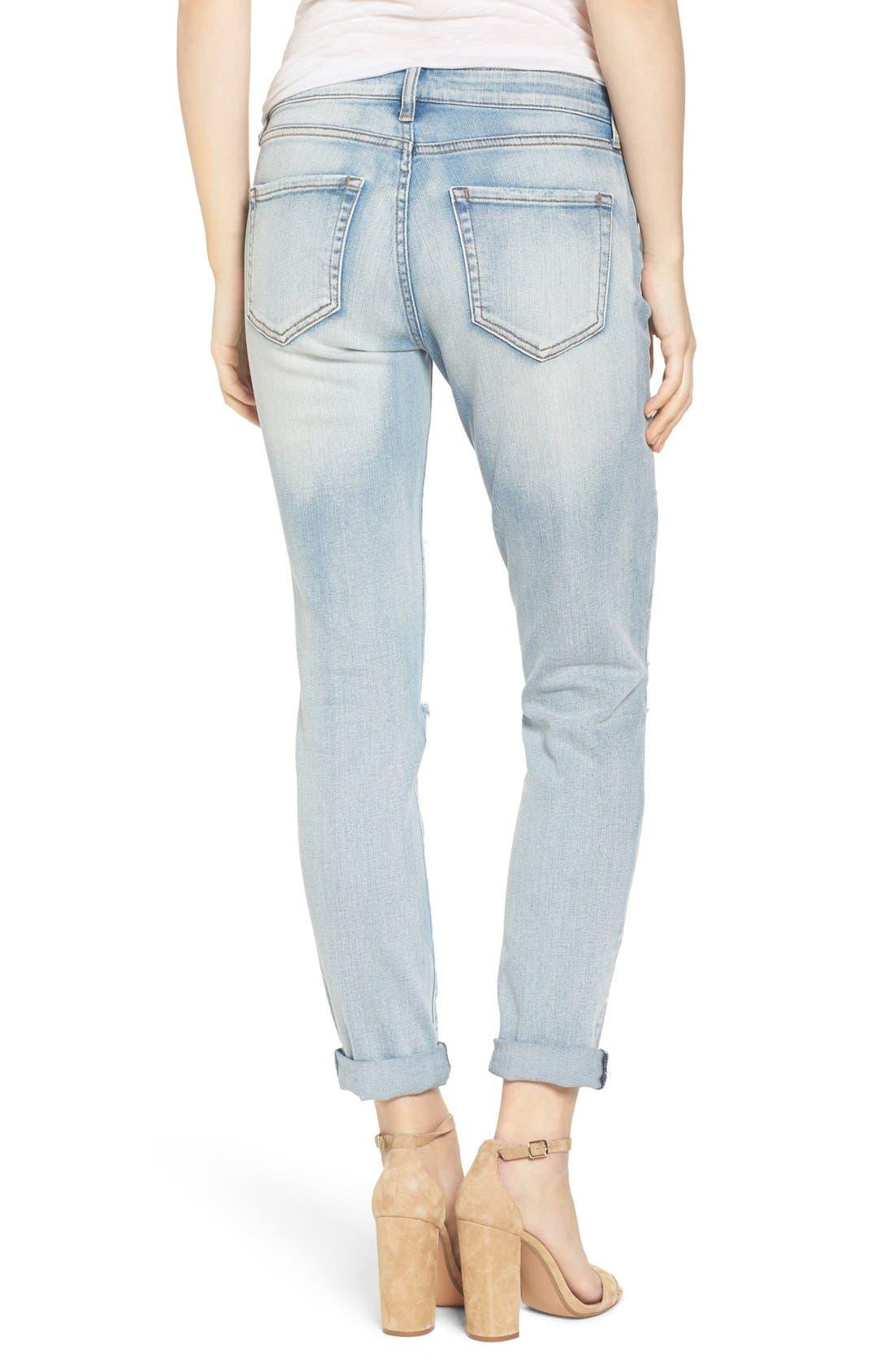 Alternate Image 2  - BP. Ripped Skinny Boyfriend Jeans
