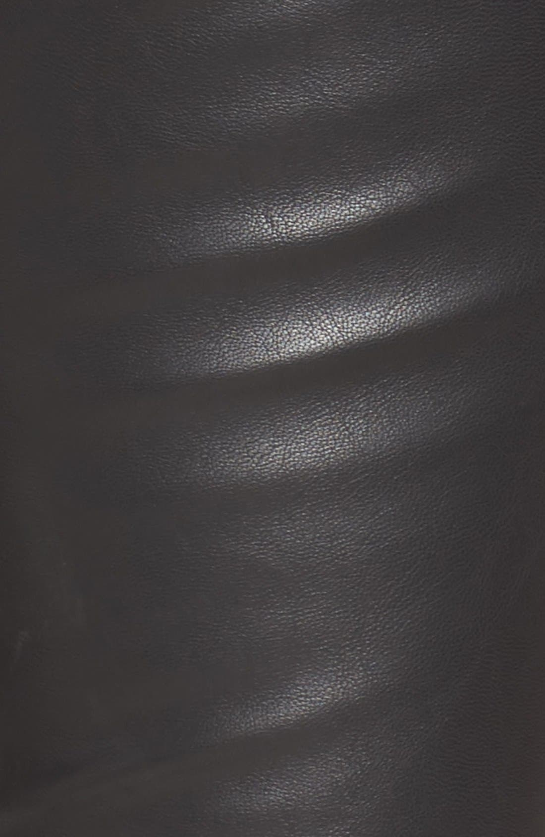 Alternate Image 5  - KUT from the Kloth Brigitte Faux Leather Pants