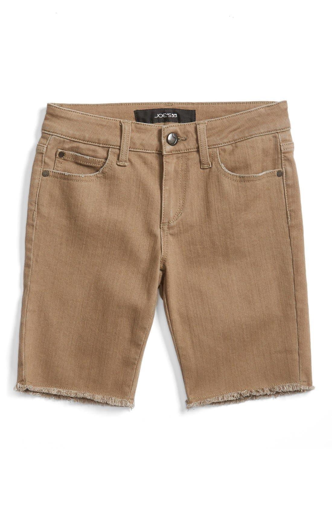 JOE'S Frayed Hem Bermuda Shorts