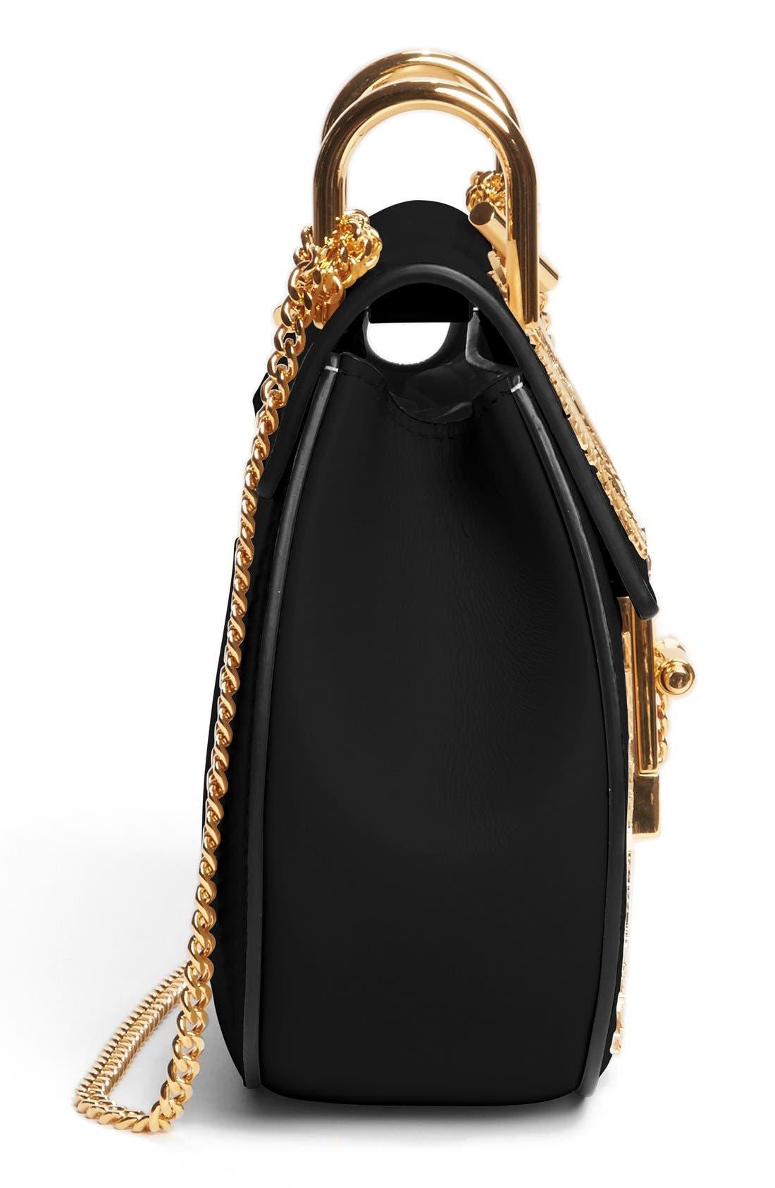 Alternate Image 2  - Chloe Mini Drew Embellished Saddle Bag