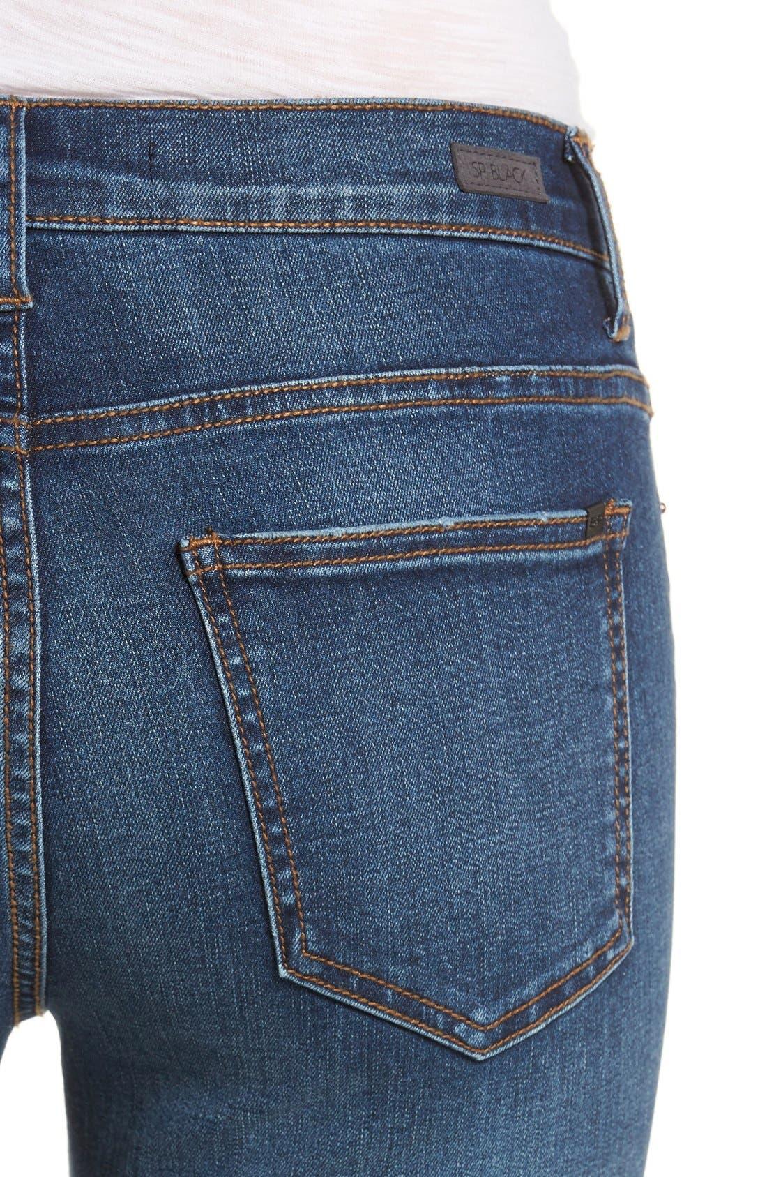 Alternate Image 4  - SP Black Decon Skinny Jeans