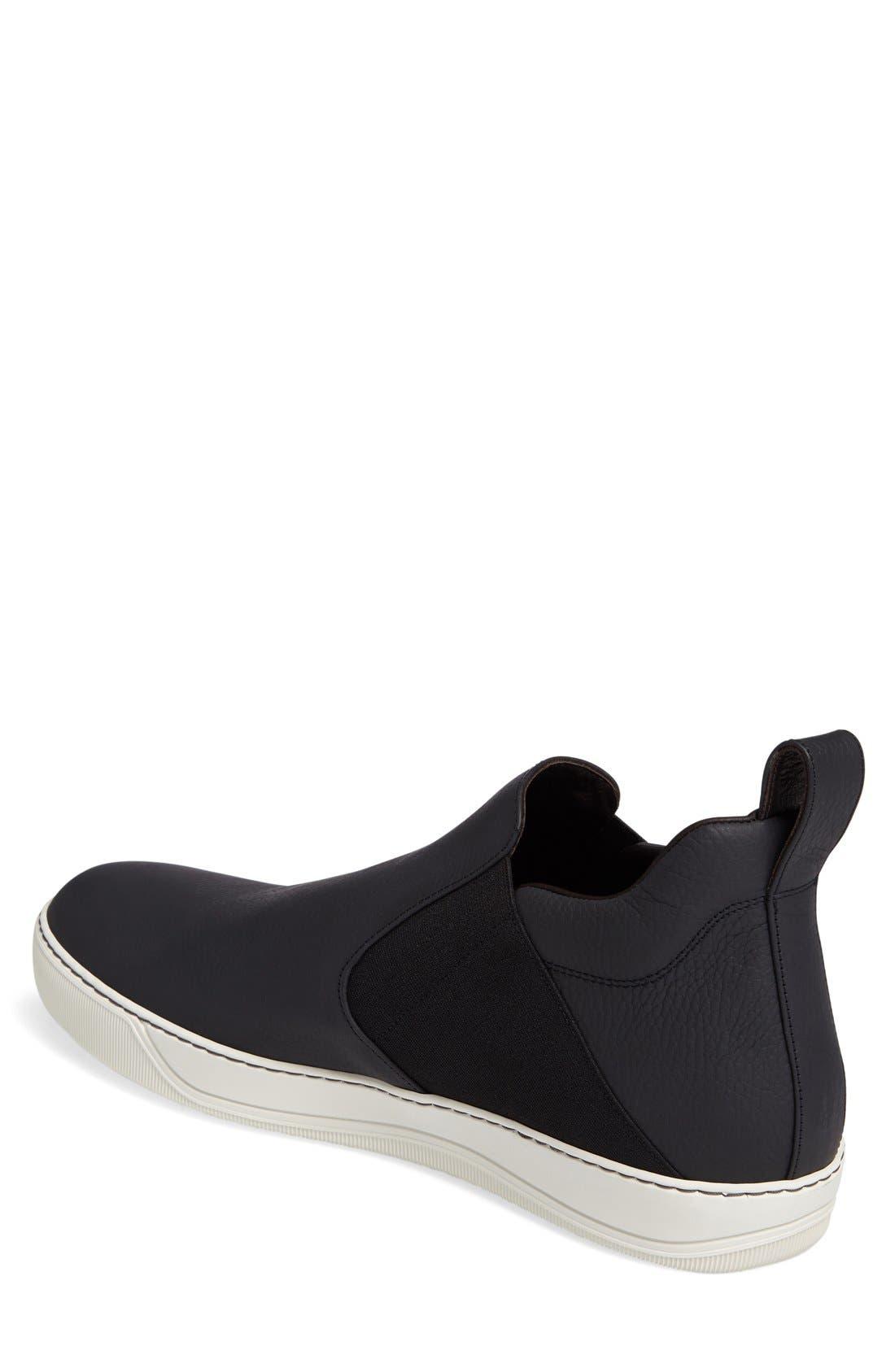 Alternate Image 2  - Lanvin Mid Slip-On Sneaker (Men)