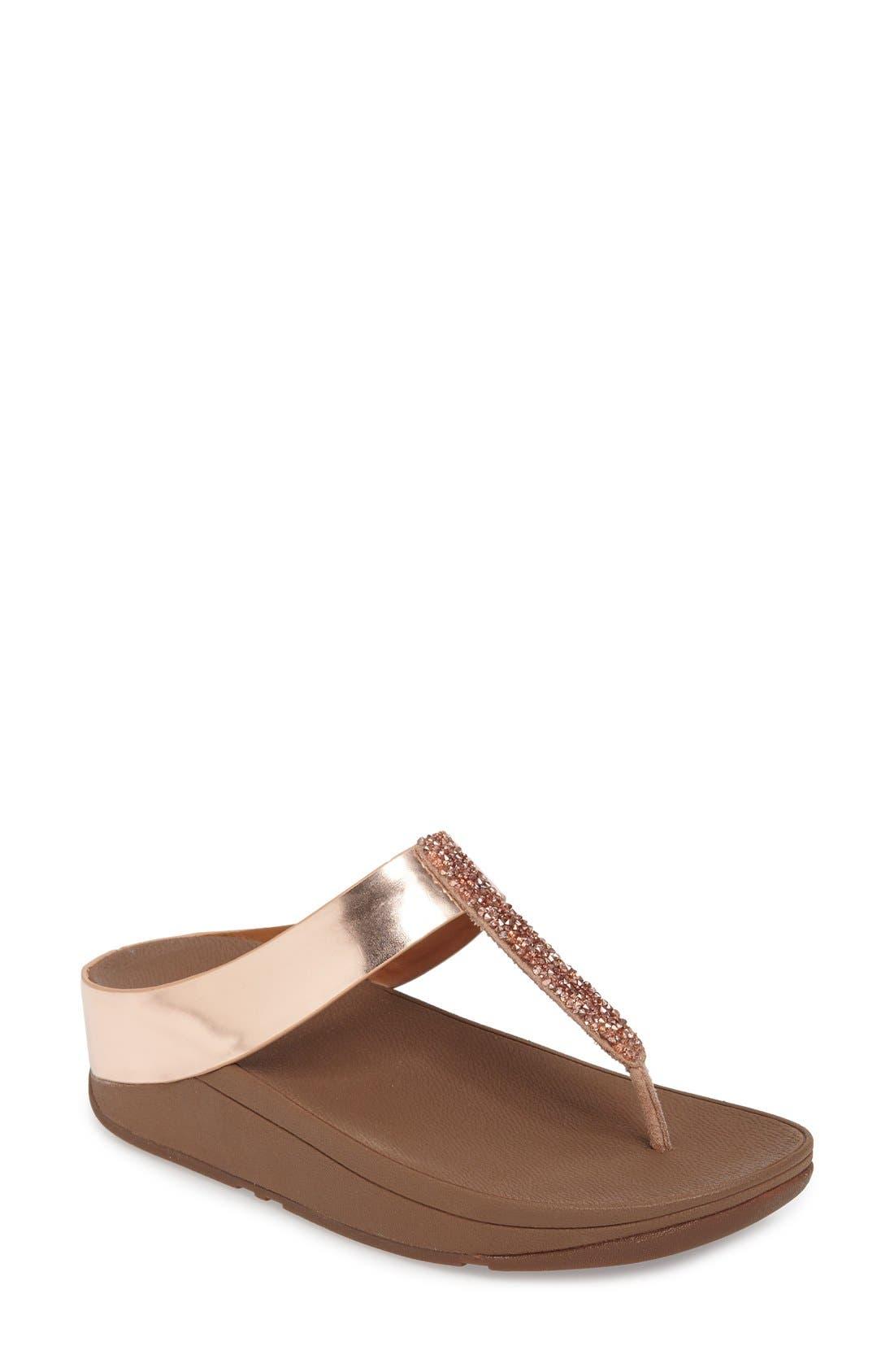 FitFlop™ Fino Flip Flop Sandal (Women)