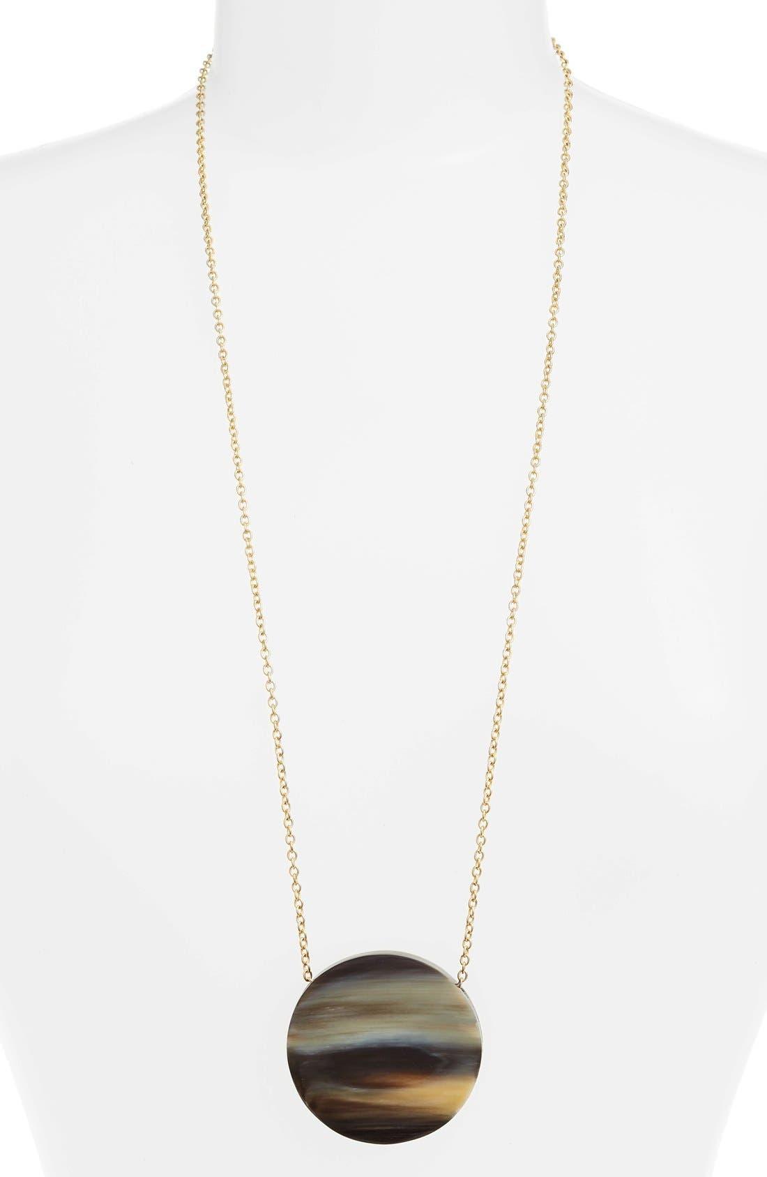 Soko Horn Pendant Necklace