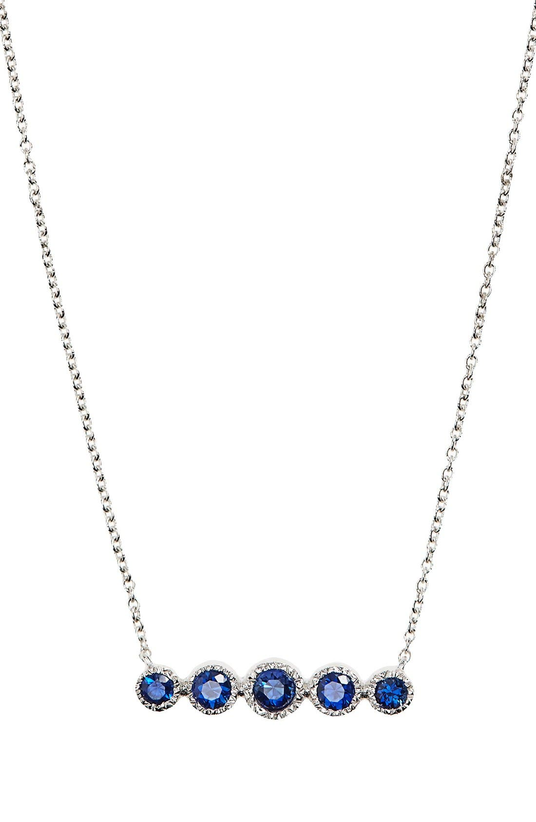Bony Levy Gemstone Pendant Necklace (Nordstrom Exclusive)