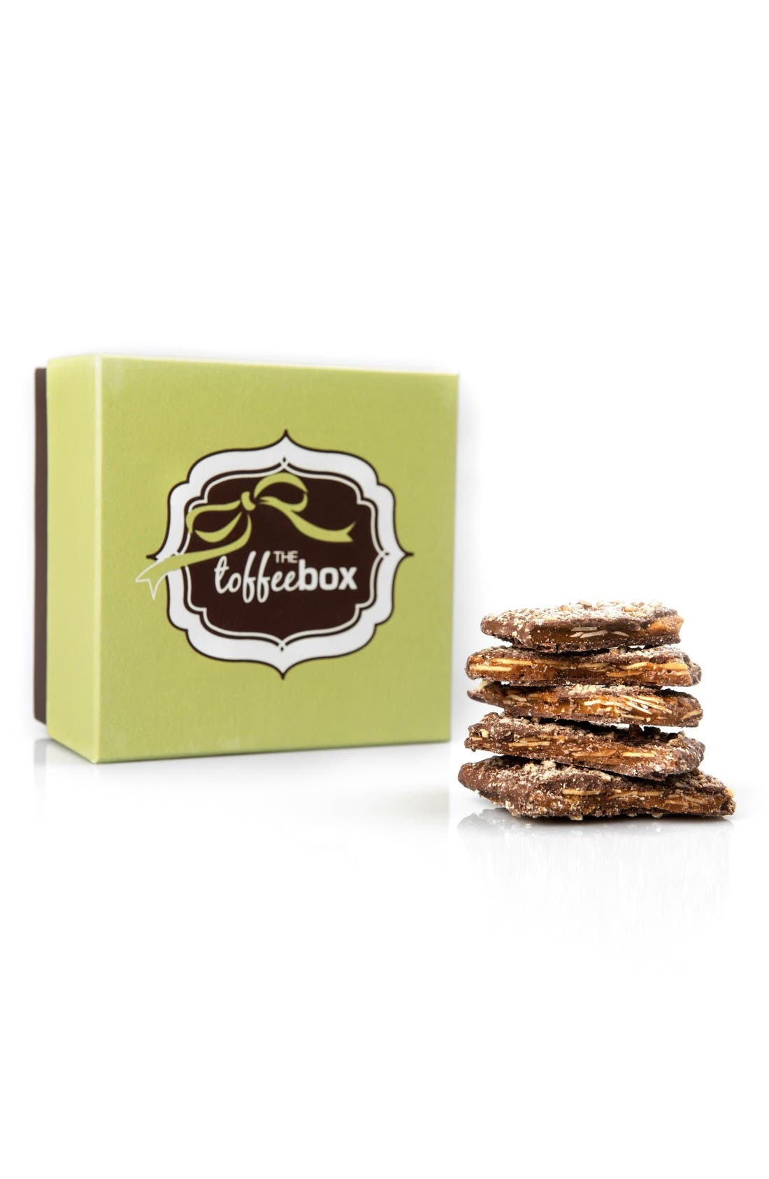THE TOFFEE BOX Milk Chocolate Pecan Toffee