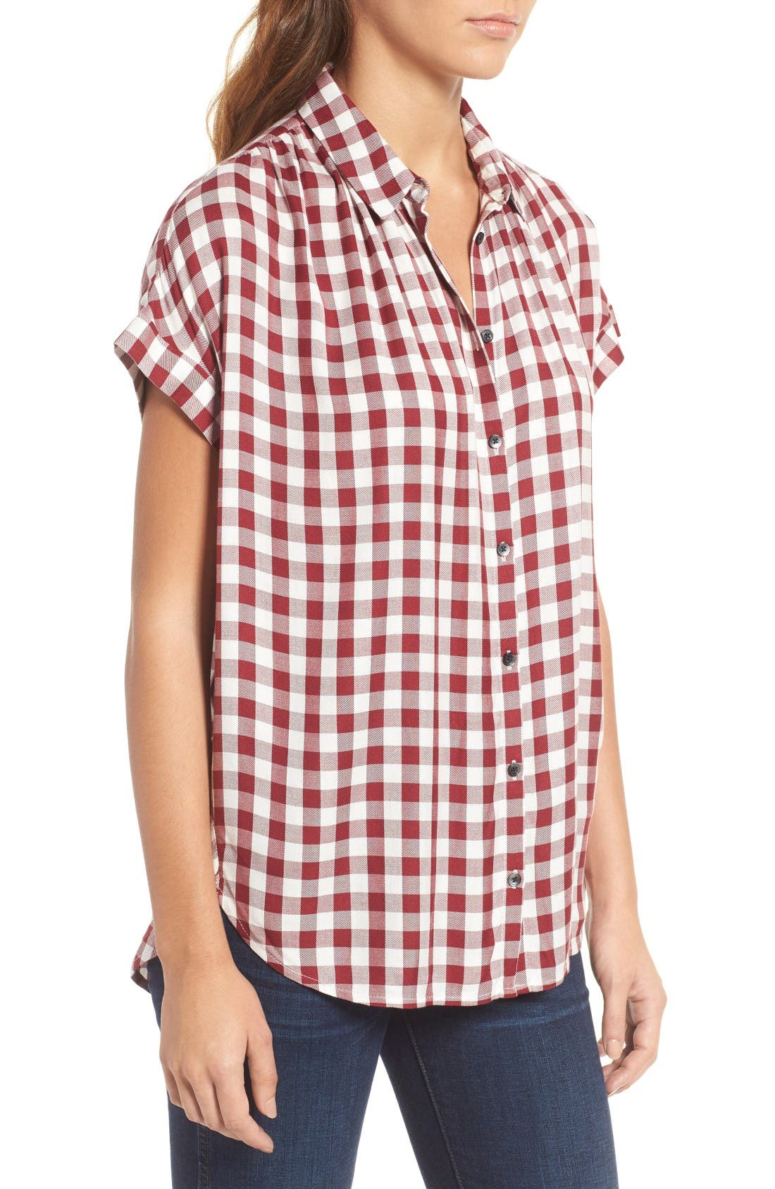 Alternate Image 4  - Madewell Plaid Courier Shirt