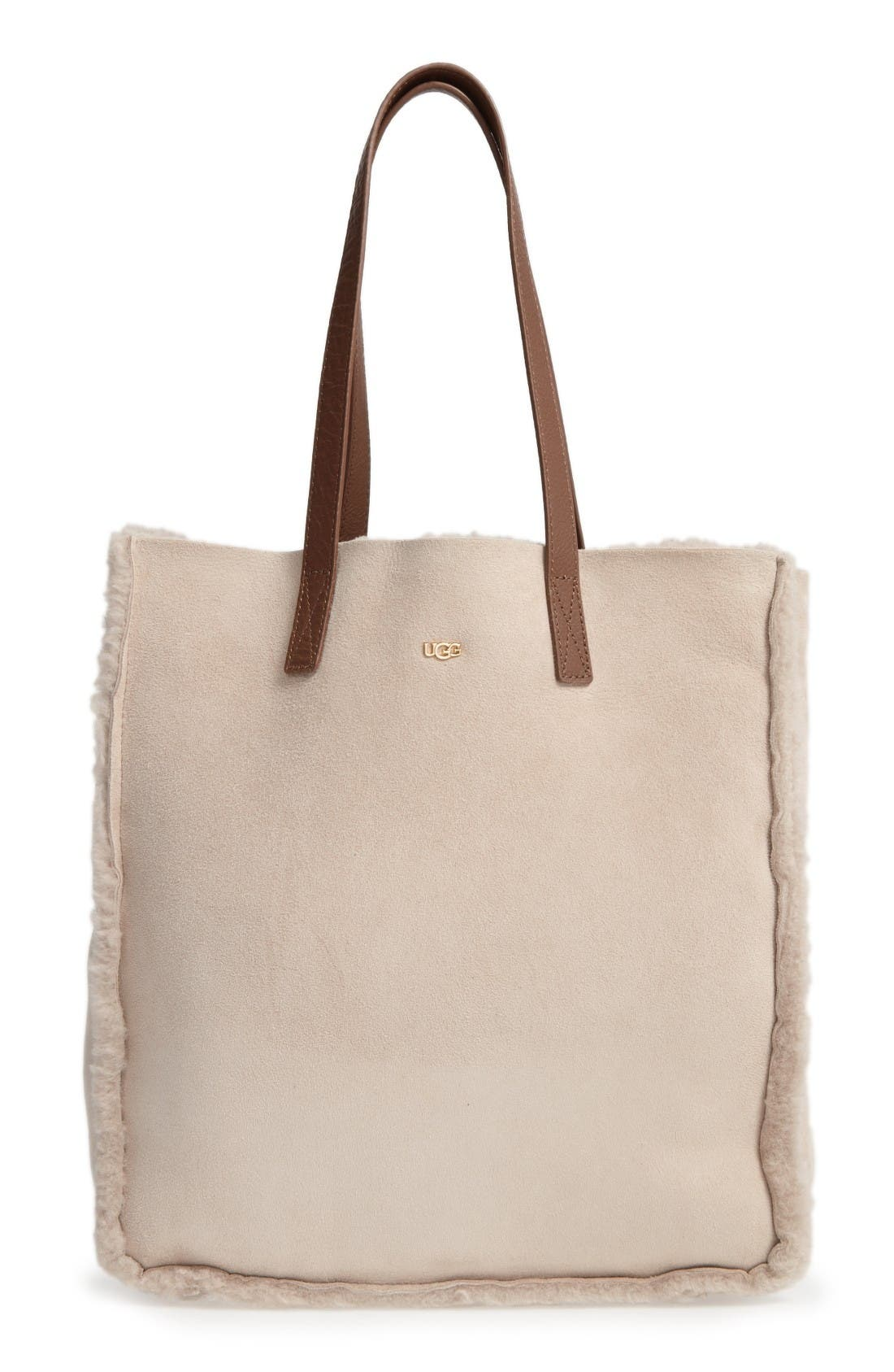 UGG® Claire Genuine Shearling Tote