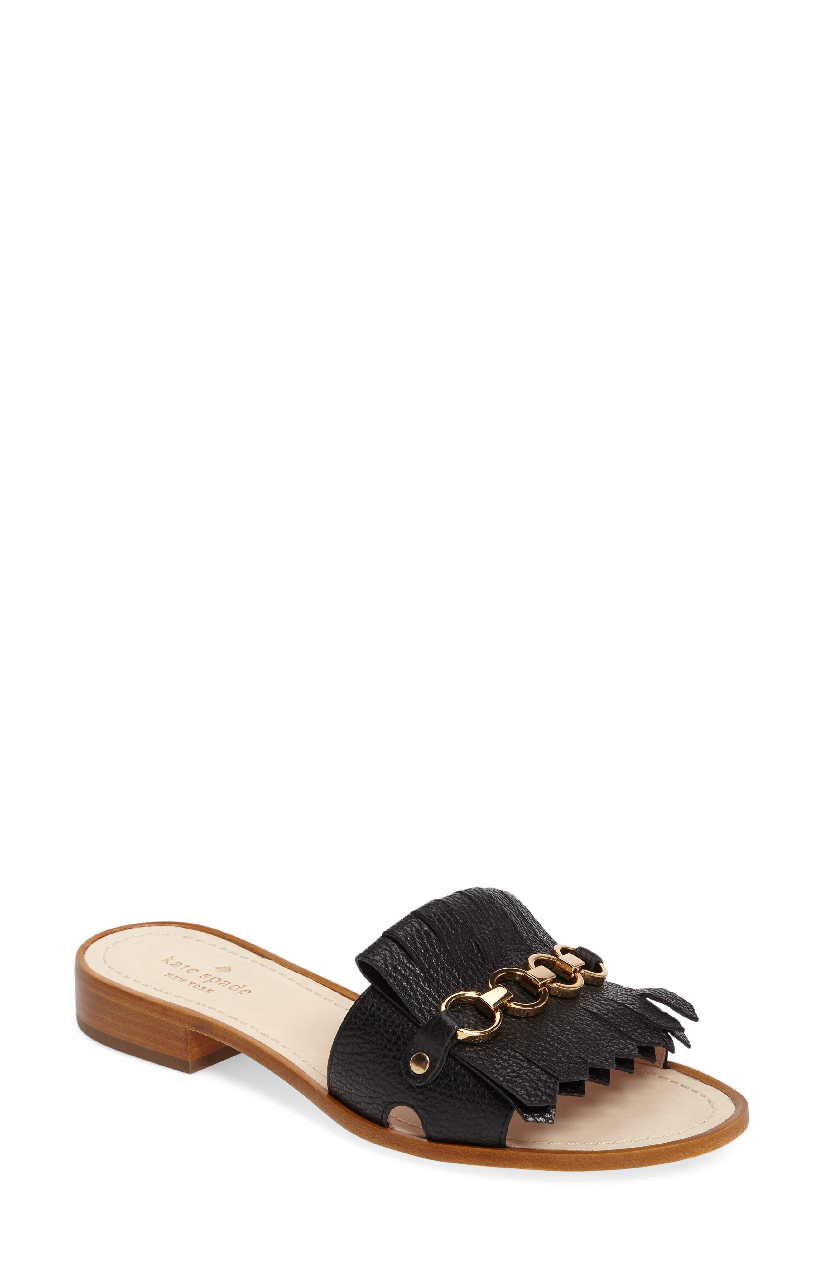 kate spade new york brie slide sandal (Women)