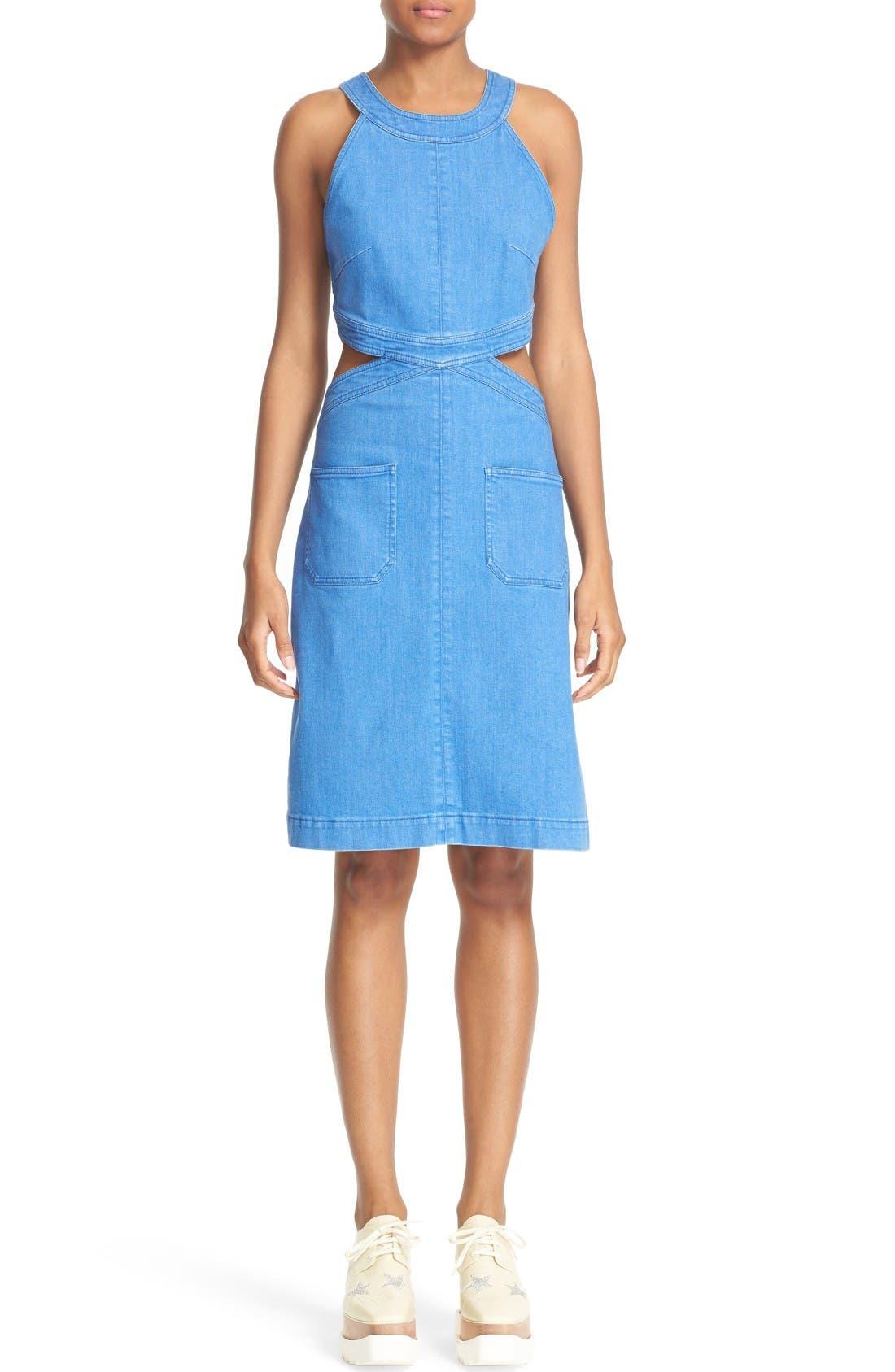 STELLA MCCARTNEY Stretch Denim Dress