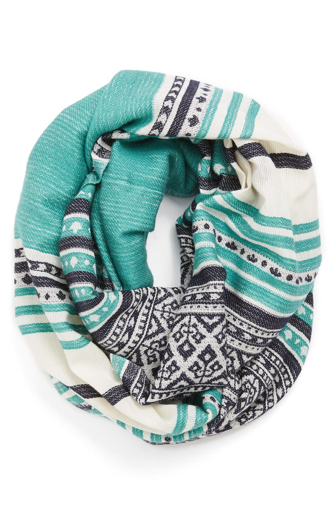 Alternate Image 1 Selected - Michael Stars Woven Infinity Scarf