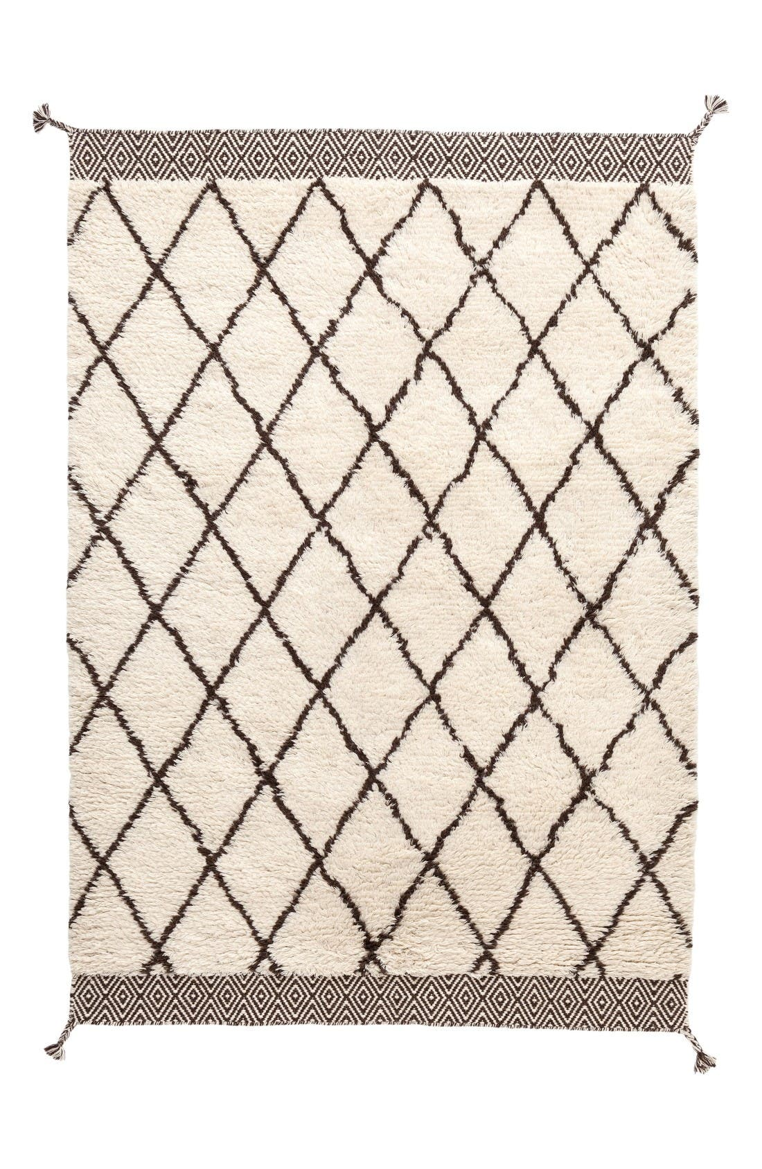 Dash & Albert Geo Print Wool Rug