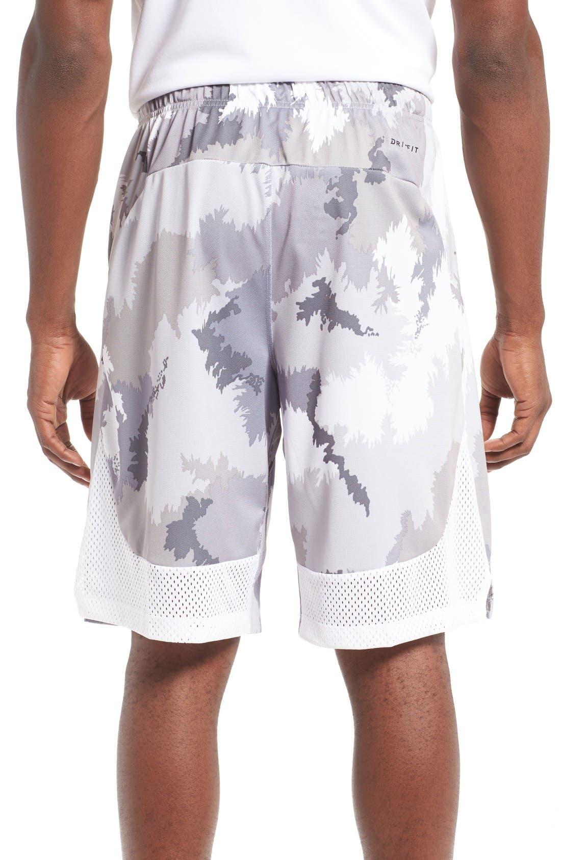 Alternate Image 2  - Nike 'Hyperspeed Topo Buzz' Camo Print Dri-FIT Athletic Shorts