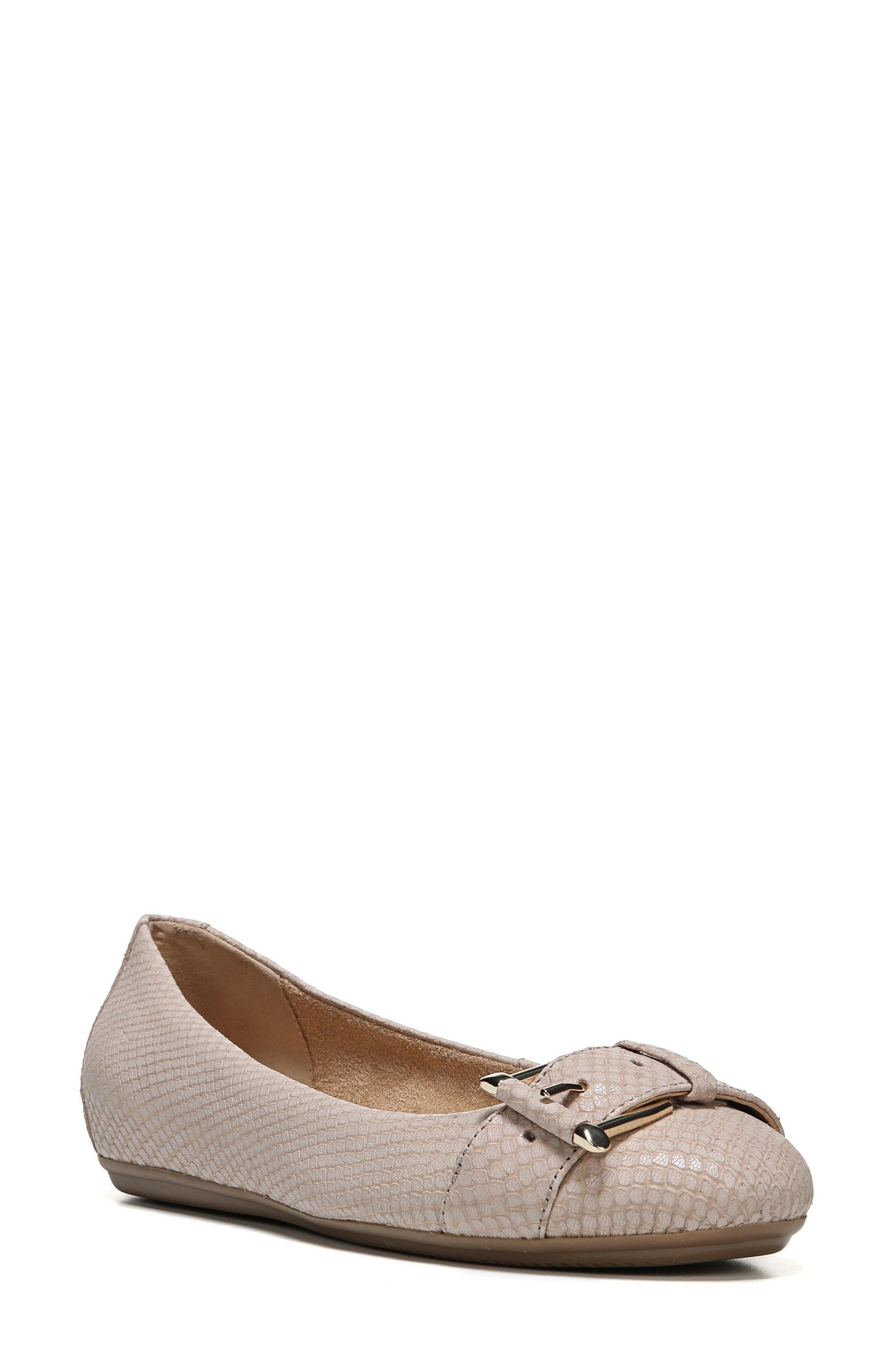 Naturalizer Bayberry Buckle Flat (Women)