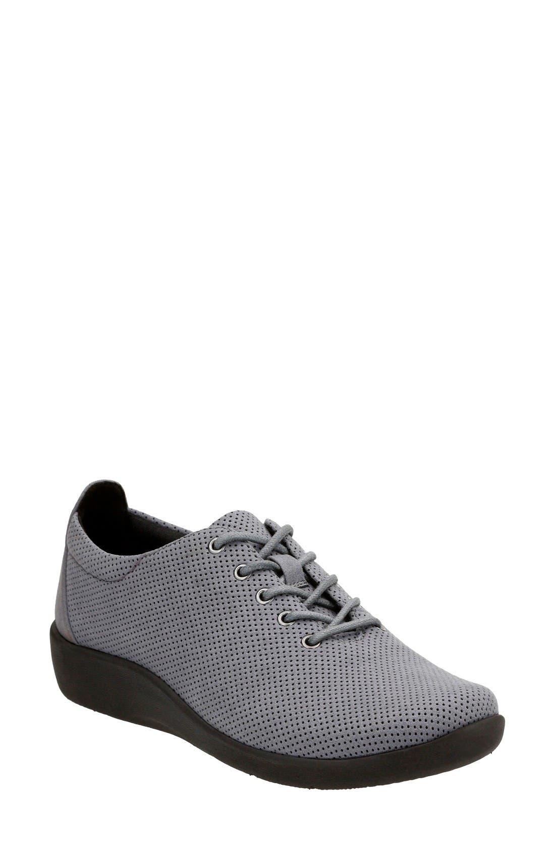 Clarks® 'Sillian - Tino' Sneaker (Women)
