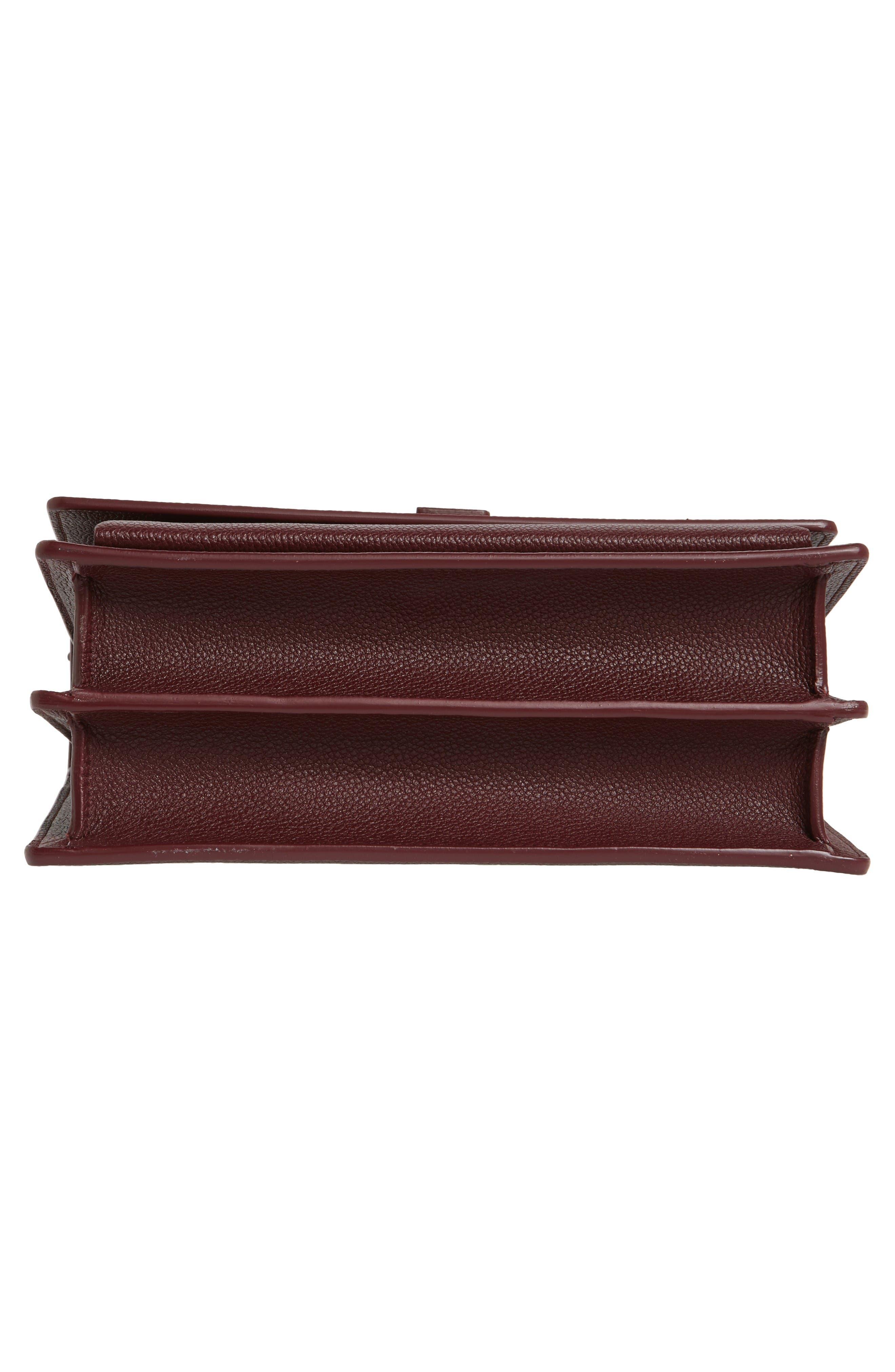 Alternate Image 6  - Saint Laurent Medium Sunset Leather Shoulder Bag