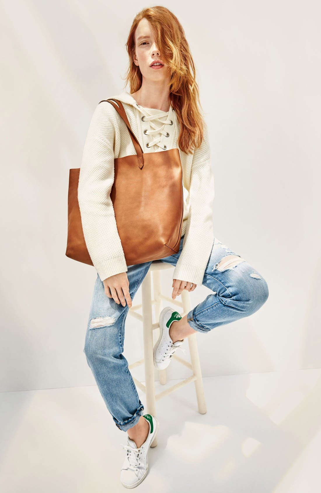 Alternate Image 2  - Madewell 'The Transport' Leather Tote