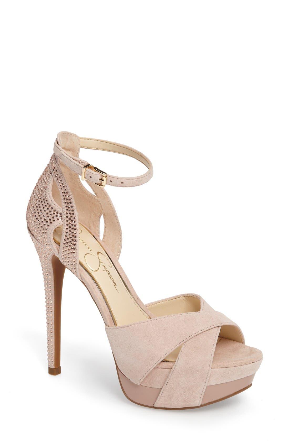 JESSICA SIMPSON Wendah Strappy Platform Sandal
