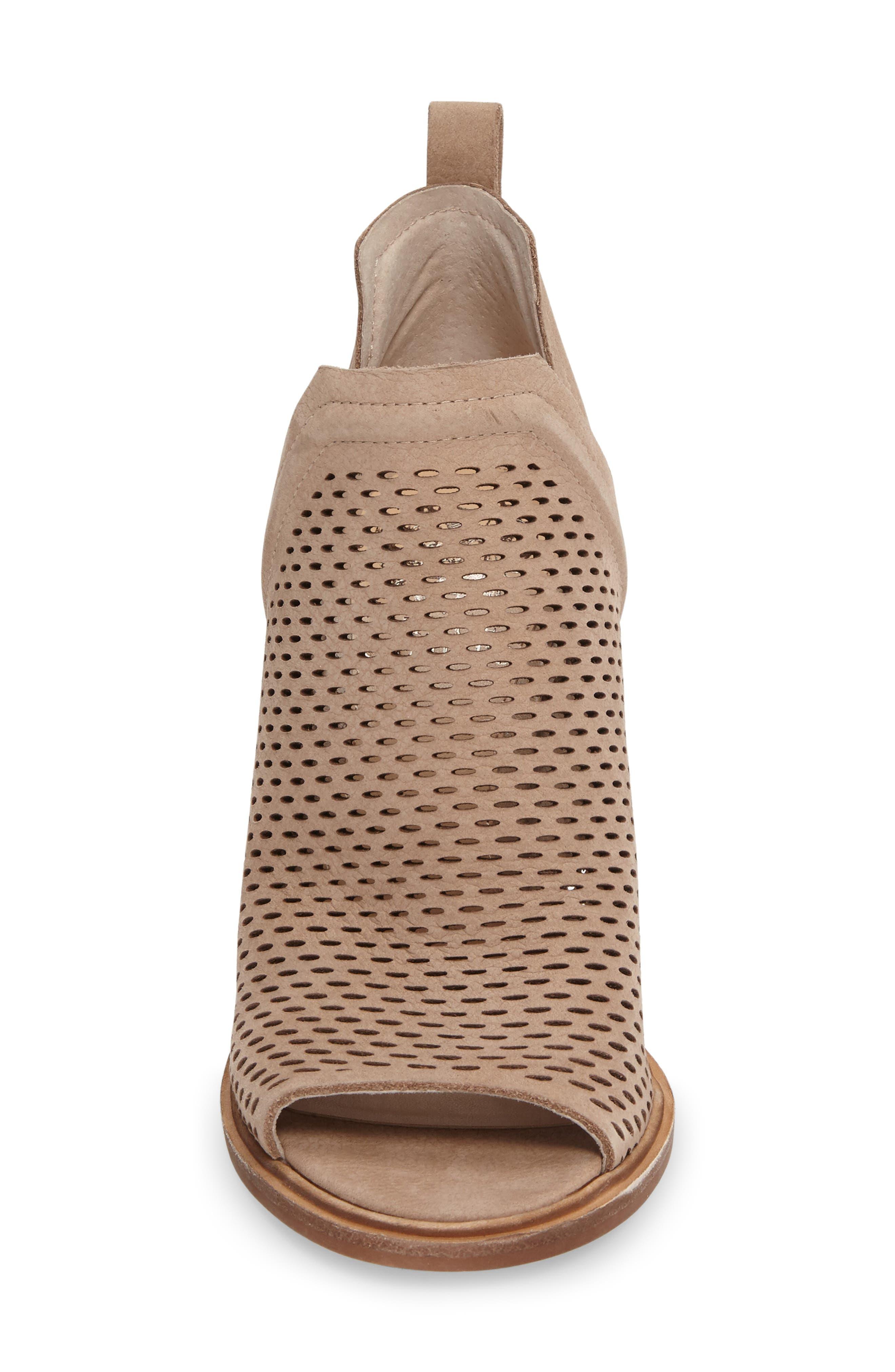 Alternate Image 3  - Vince Camuto Kensa Peep Toe Bootie (Women) (Nordstrom Exclusive)