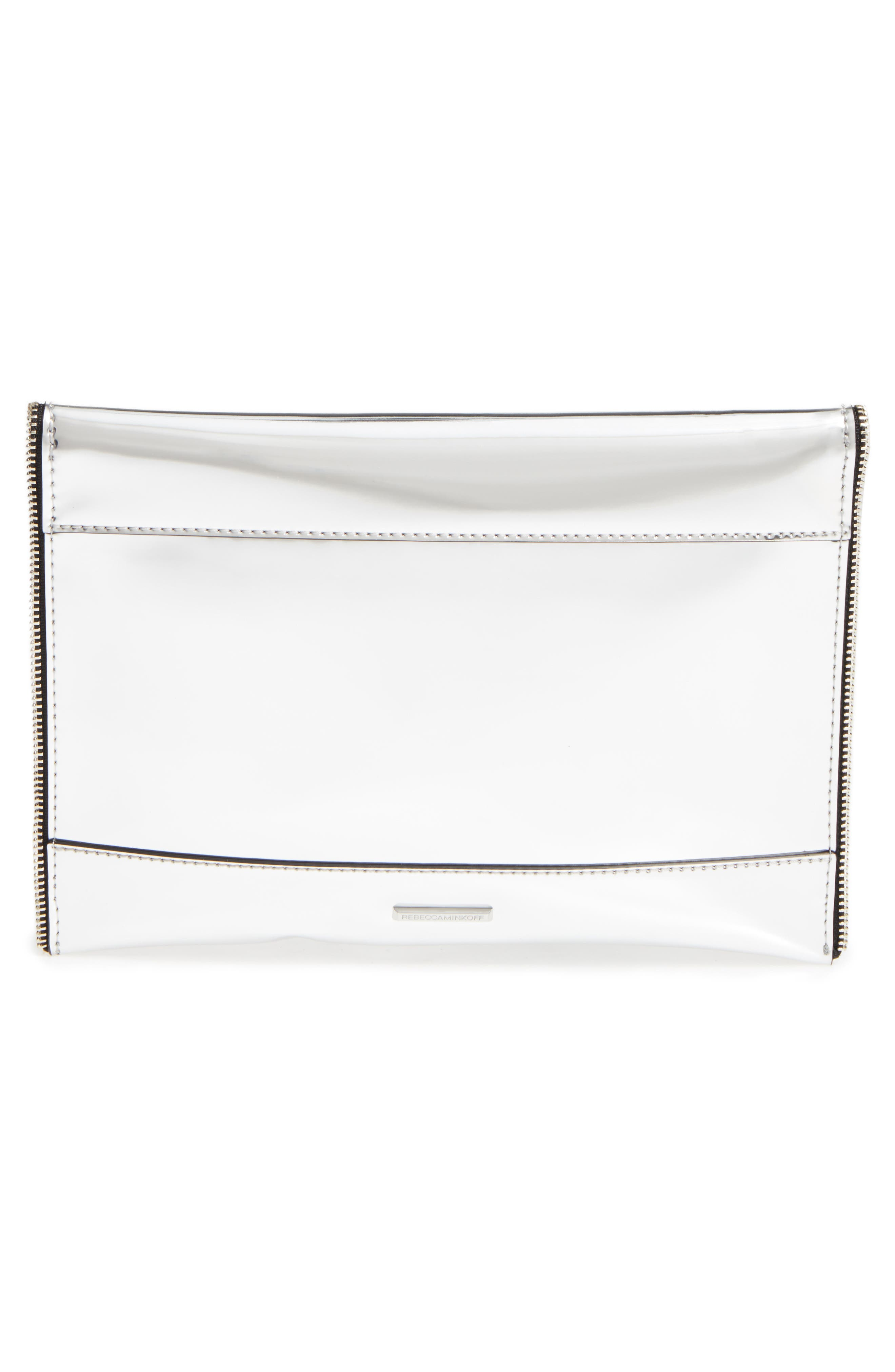 Alternate Image 3  - Rebecca Minkoff Mirrored Leo Clutch