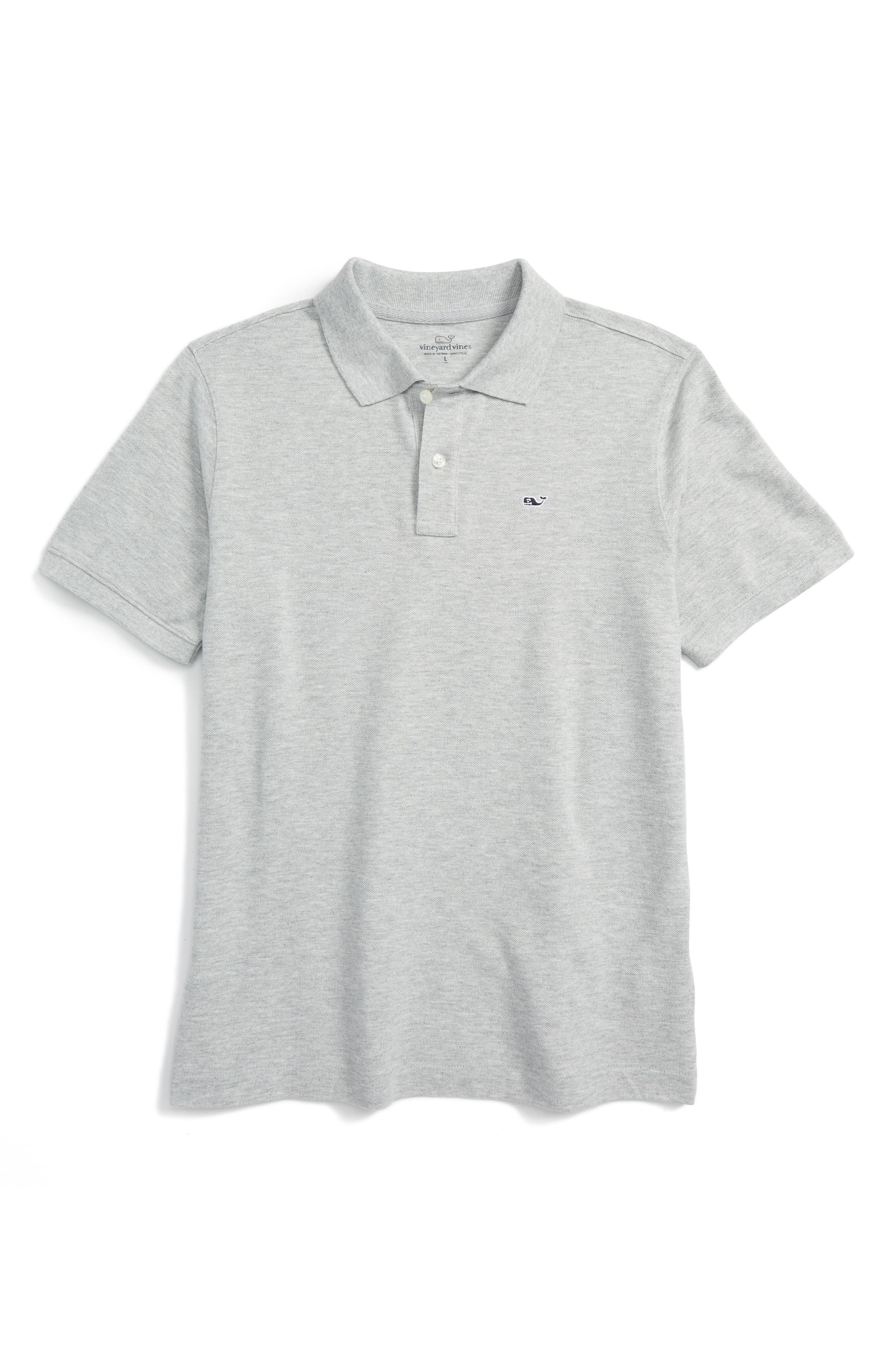 Vineyard Vines Classic Piqué Polo (Big Boys)