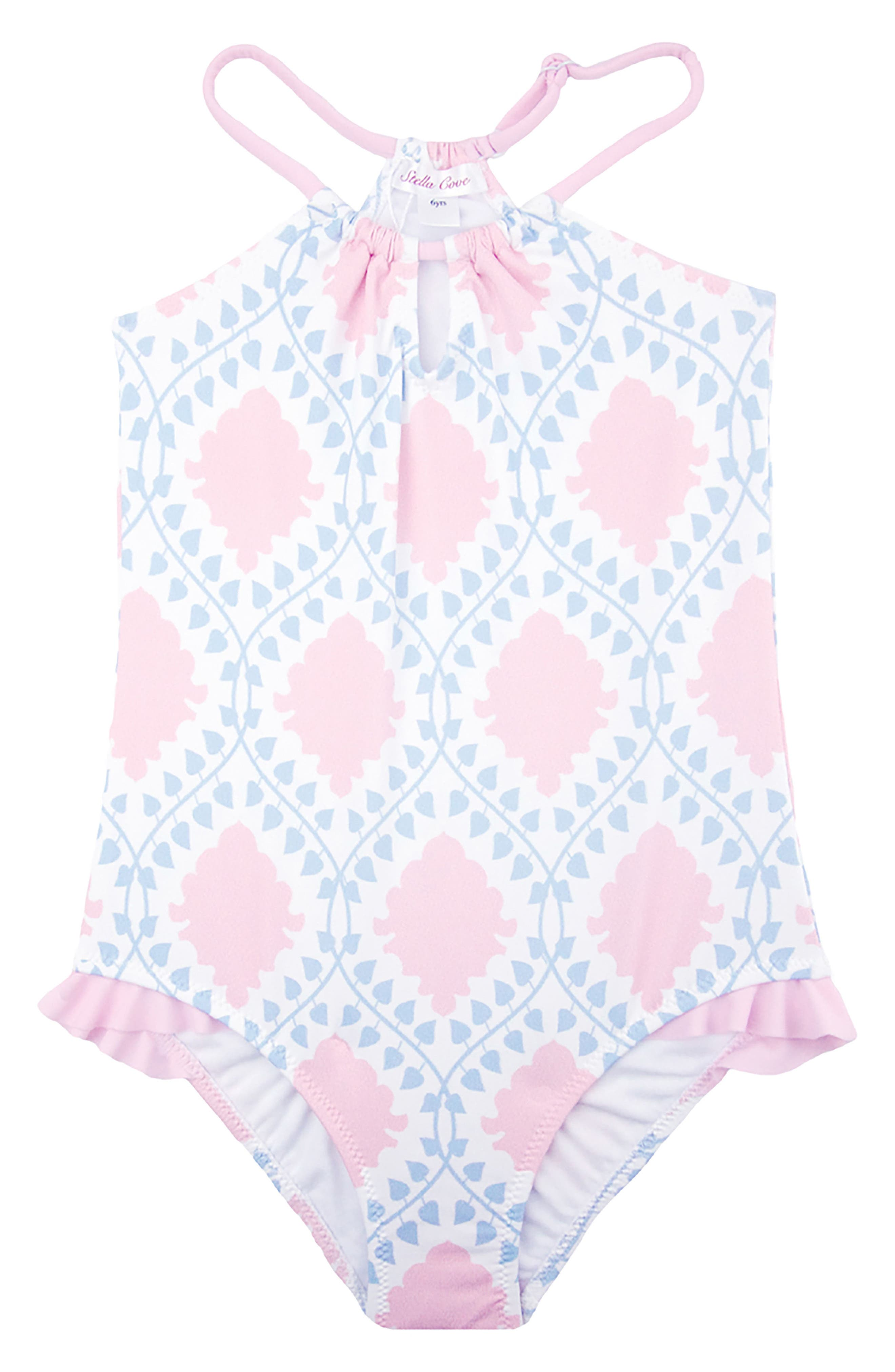 STELLA COVE Print One-Piece Swimsuit