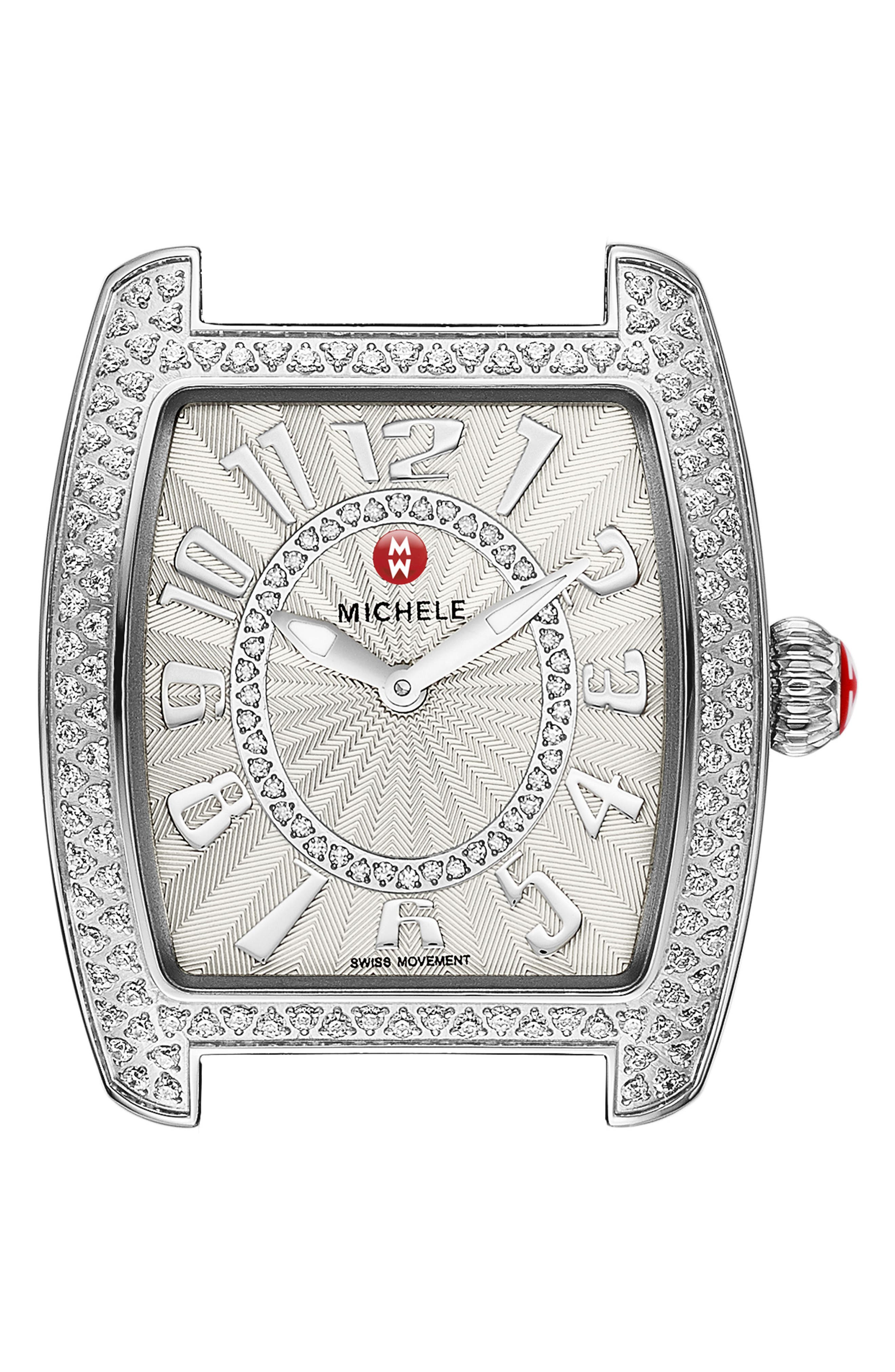 MICHELE Urban Mini Diamond Dial Watch Head, 29mm