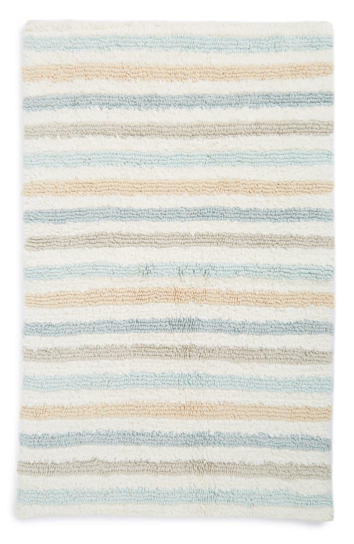 am home textiles double stripe bath rug nordstrom. Black Bedroom Furniture Sets. Home Design Ideas