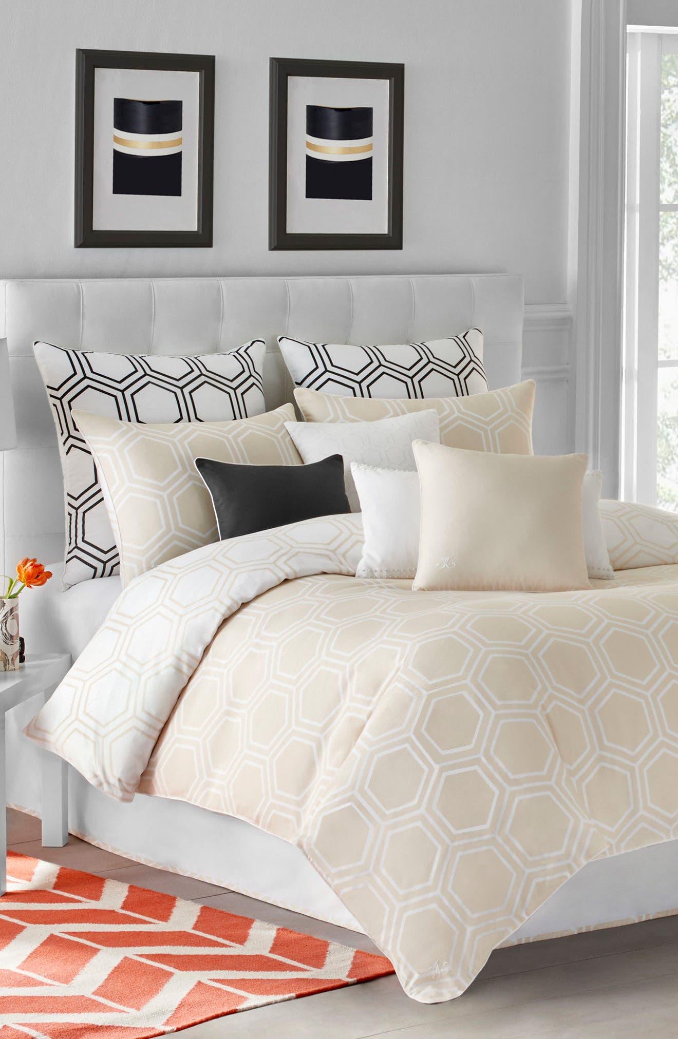 Jill Rosenwald Blackpoint Hex Comforter & Shams