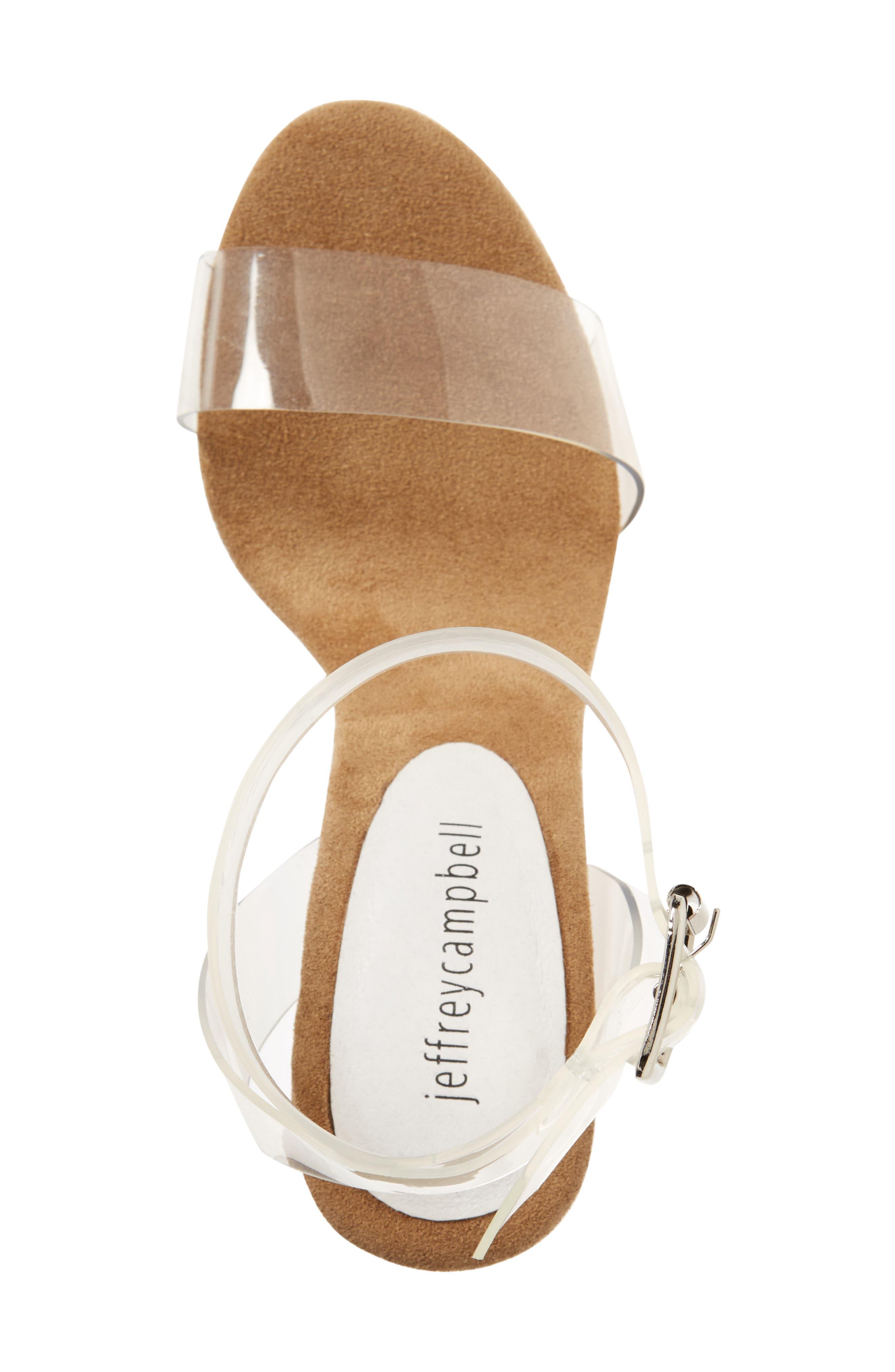Alternate Image 3  - Jeffrey Campbell Clear Heel Sandal (Women)