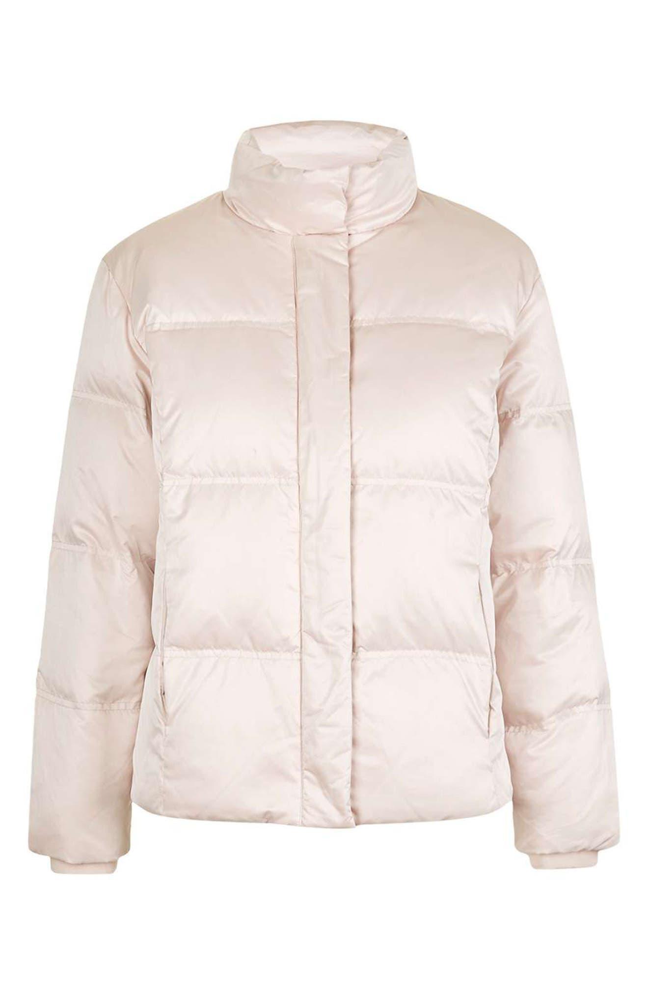 Alternate Image 4  - Topshop Emily Puffer Jacket