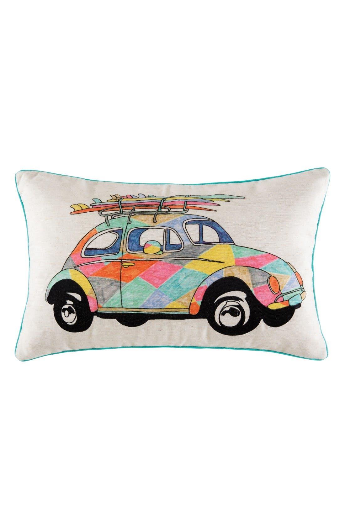 KAS DESIGNS Beach Cruiser Pillow