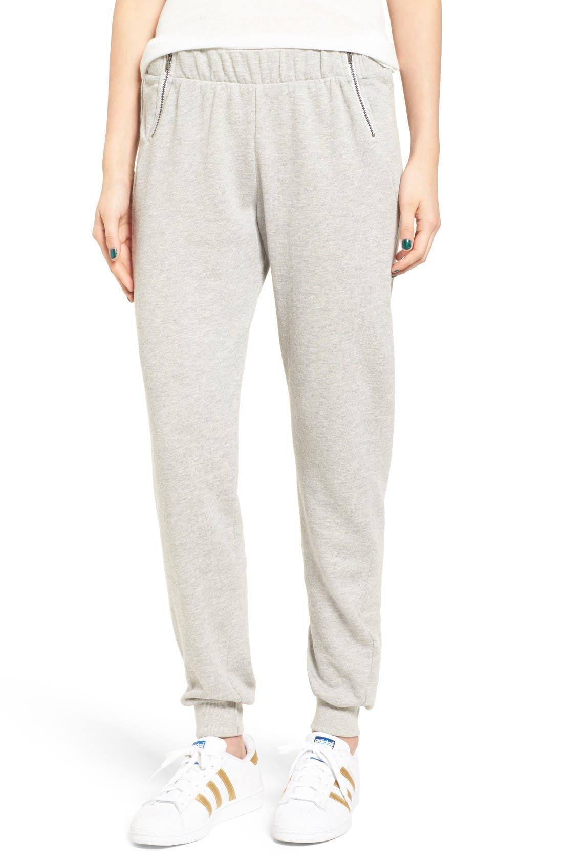 Alternate Image 1 Selected - BP. Zip Detail Pants