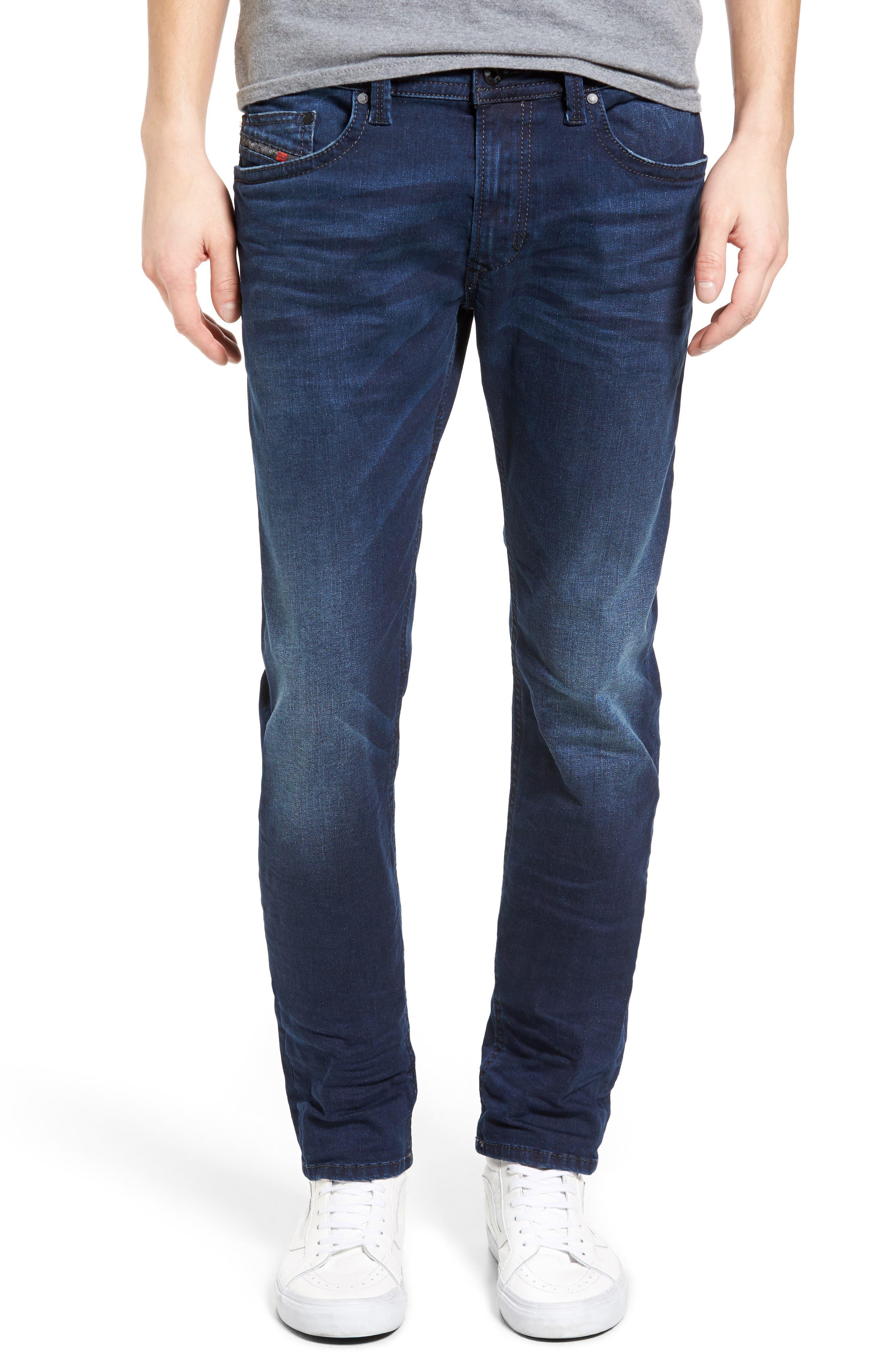 DIESEL® Thavar Skinny Fit Jeans (0859W)