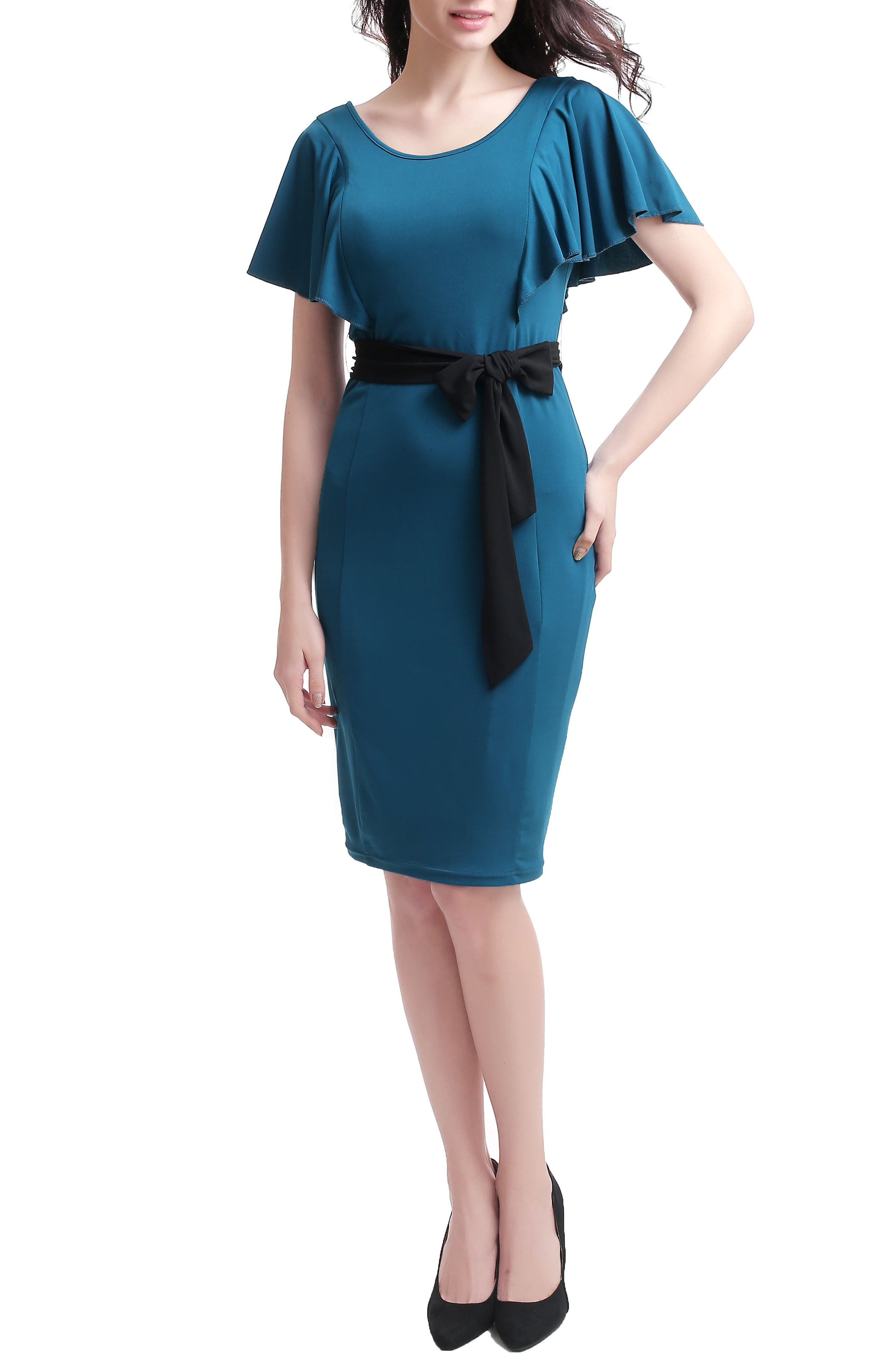 Kimi and Kai Makayla Maternity/Nursing Dress