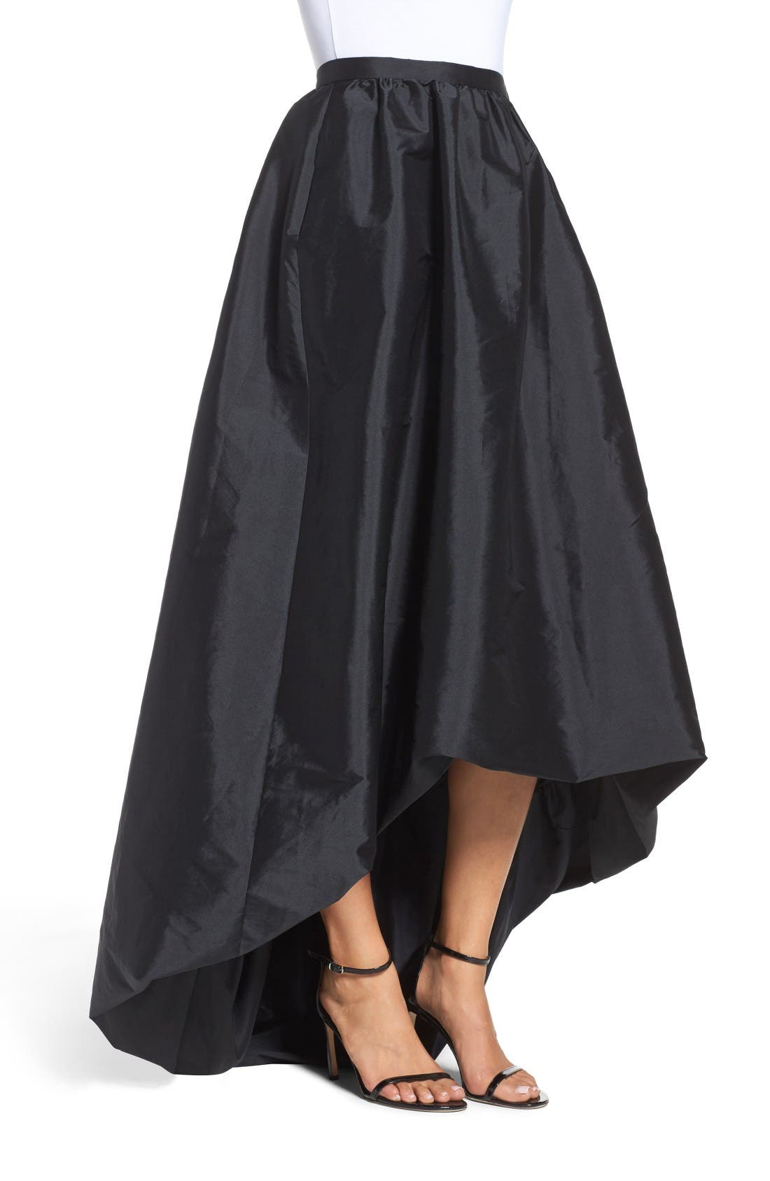 Alternate Image 3  - Adrianna Papell High/Low Ballgown Skirt
