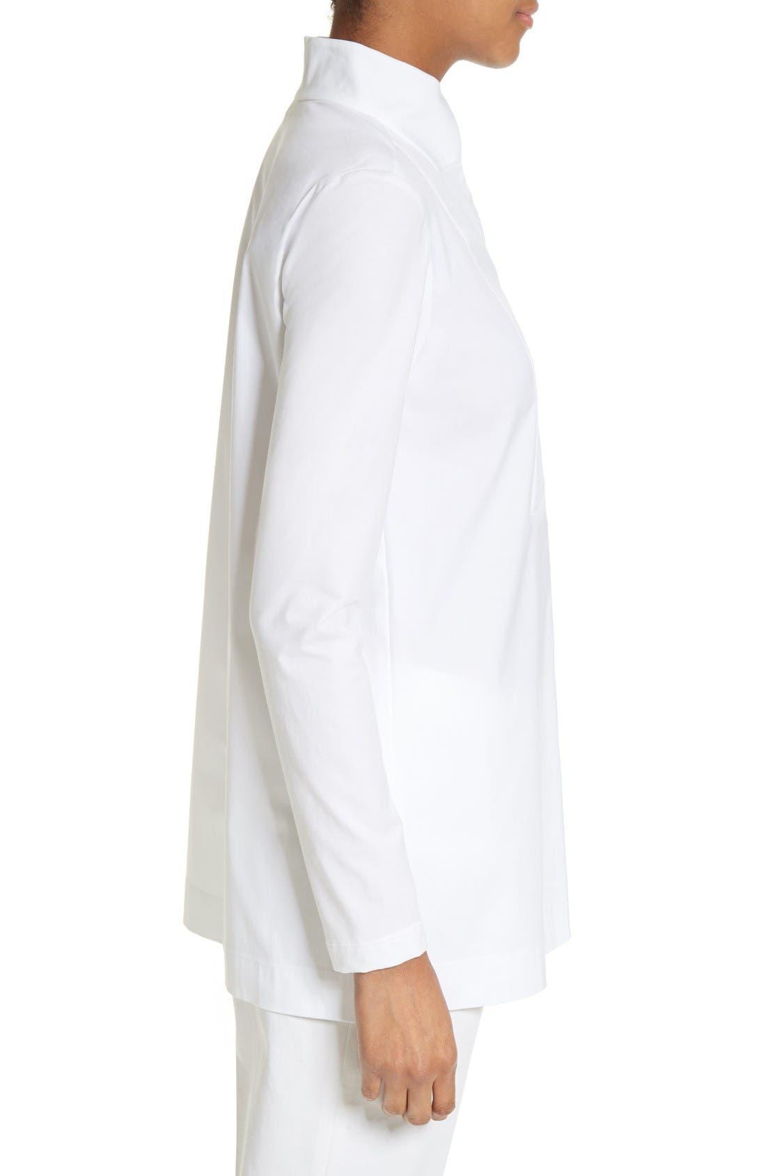Alternate Image 5  - Lafayette 148 New York Marco Jersey Sleeve Tunic