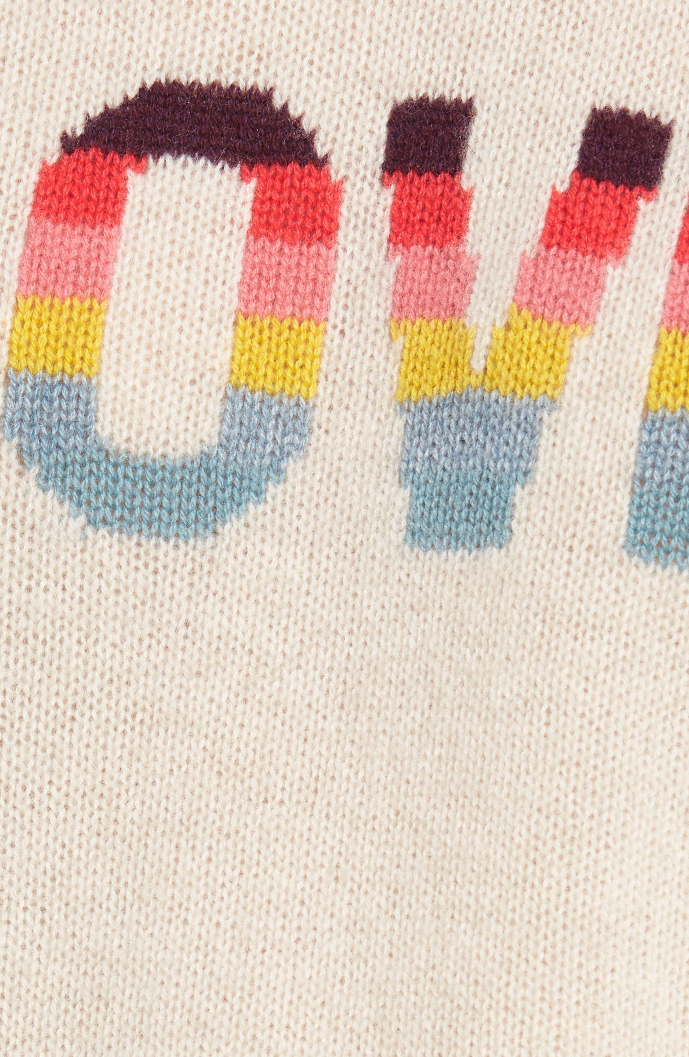Alternate Image 5  - Zadig & Voltaire Baly Bis Cashmere Sweater