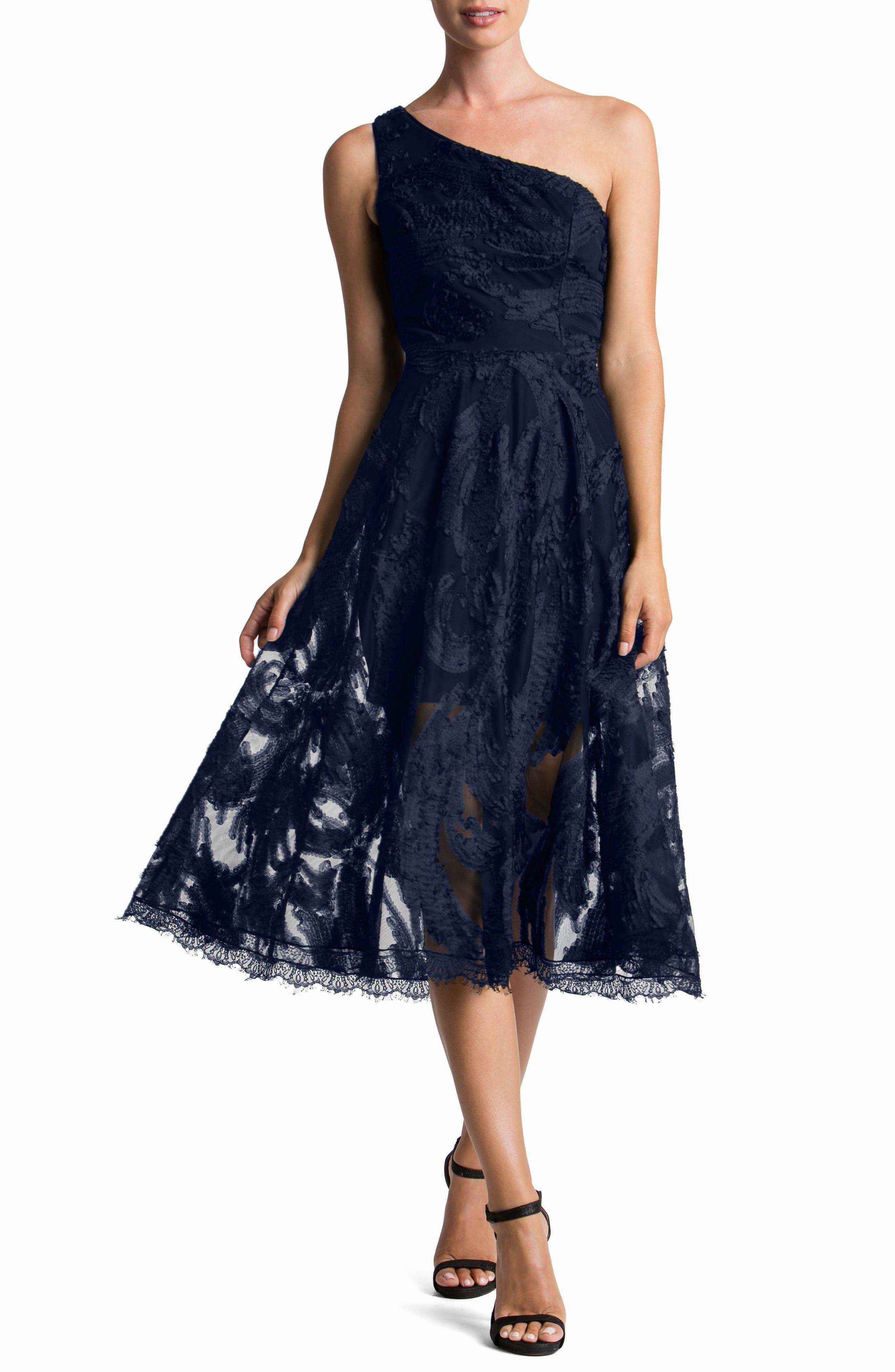 Dress the Population Rita One-Shoulder Dress