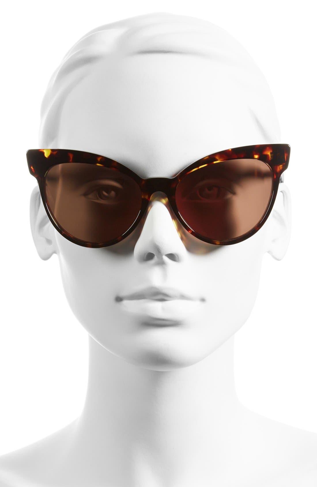 Alternate Image 2  - Wildfox 'Grand Dame' 58mm Cat Eye Sunglasses