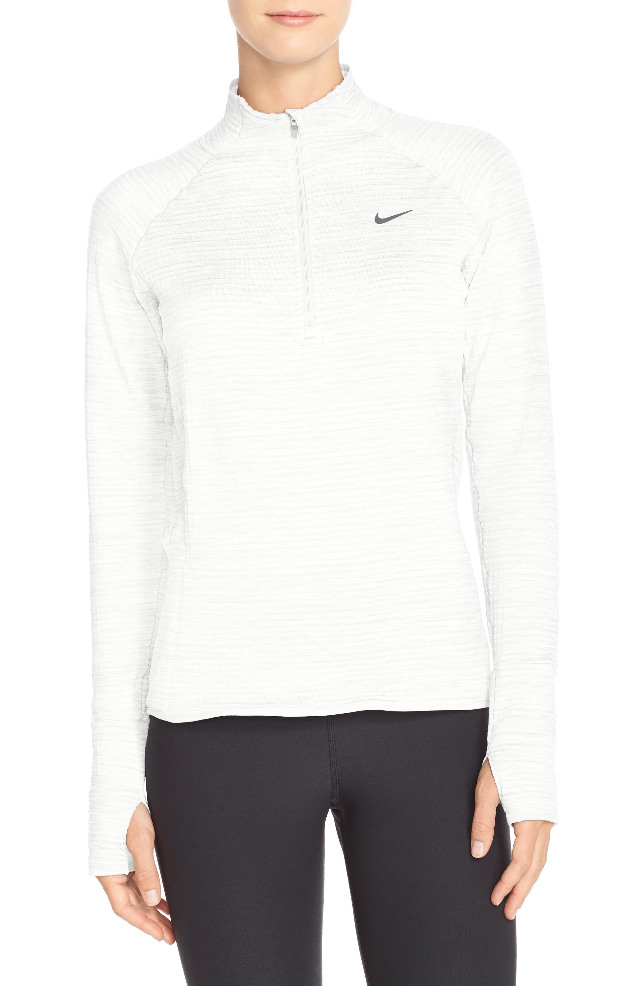 Alternate Image 1 Selected - Nike 'Element' Sphere Half Zip Running Shirt