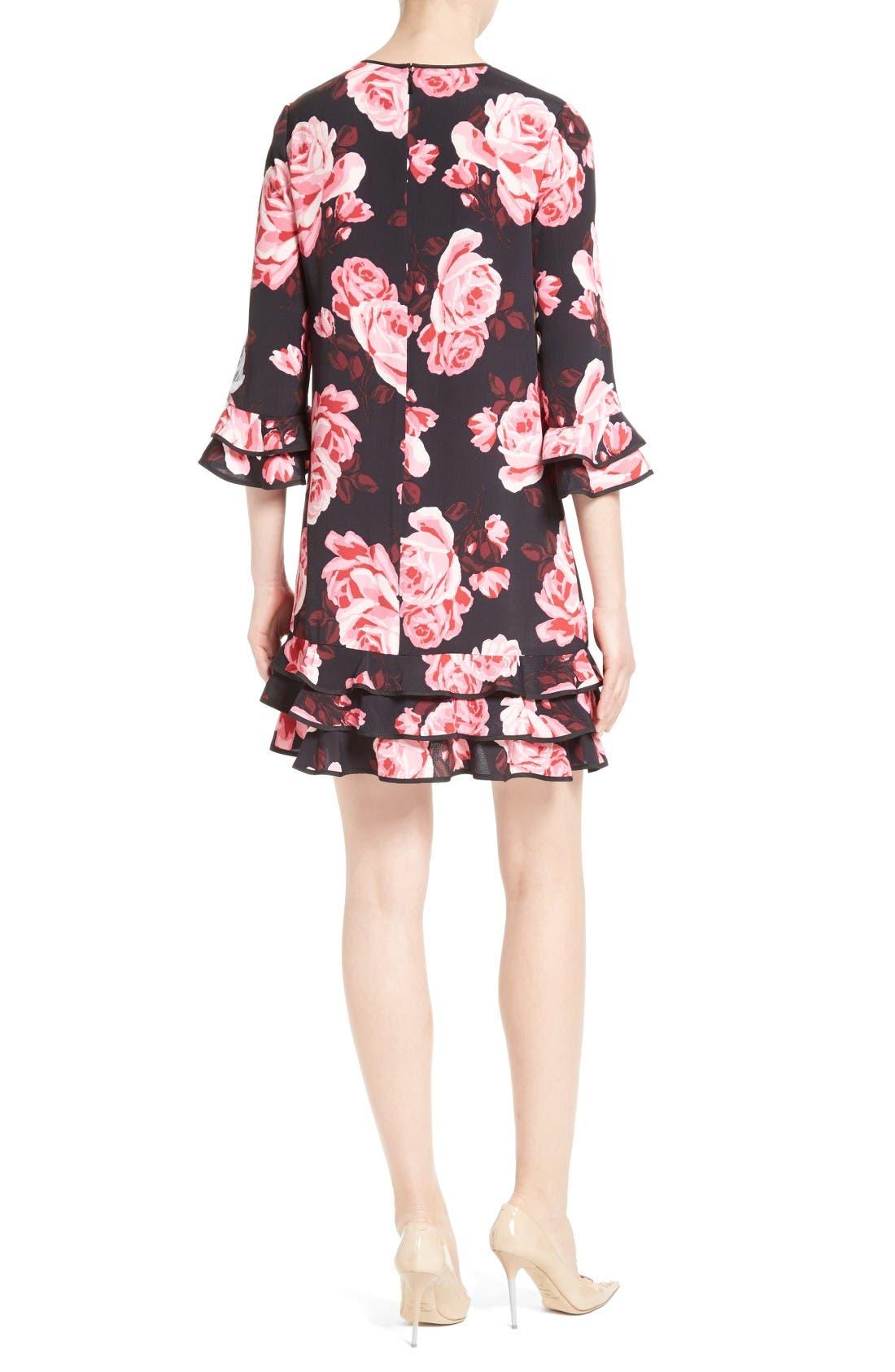 Alternate Image 2  - kate spade new york rosa ruffle shift dress