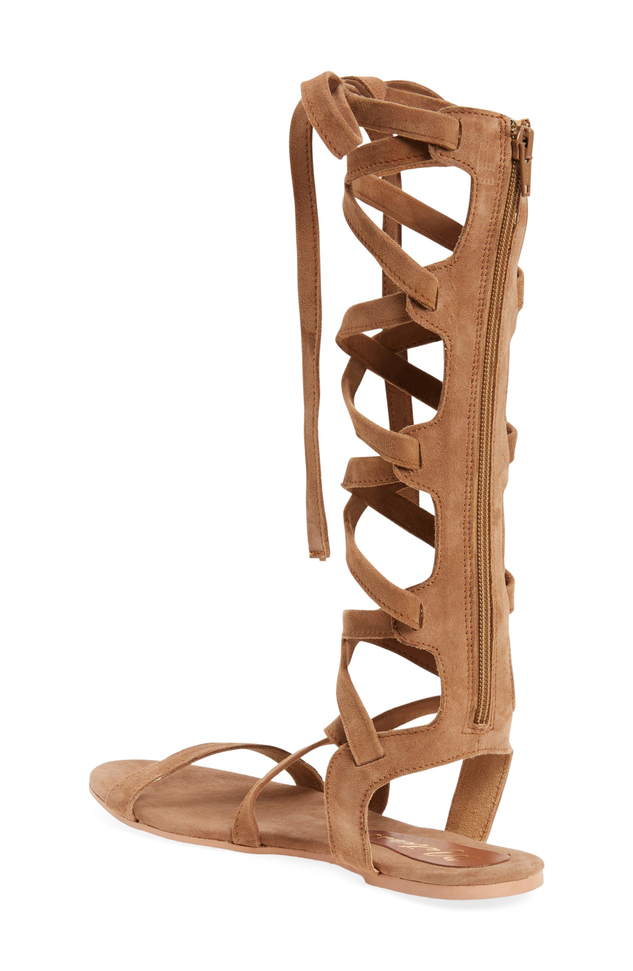 Alternate Image 2  - Matisse Zepher Tall Gladiator Sandal (Women)