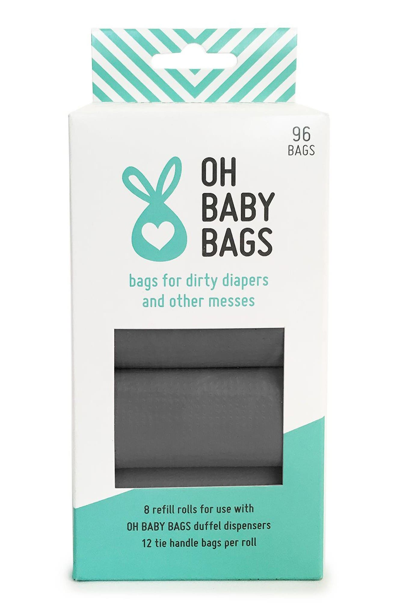 Oh Baby Bags Set of 8 Wet Bag Refill Rolls