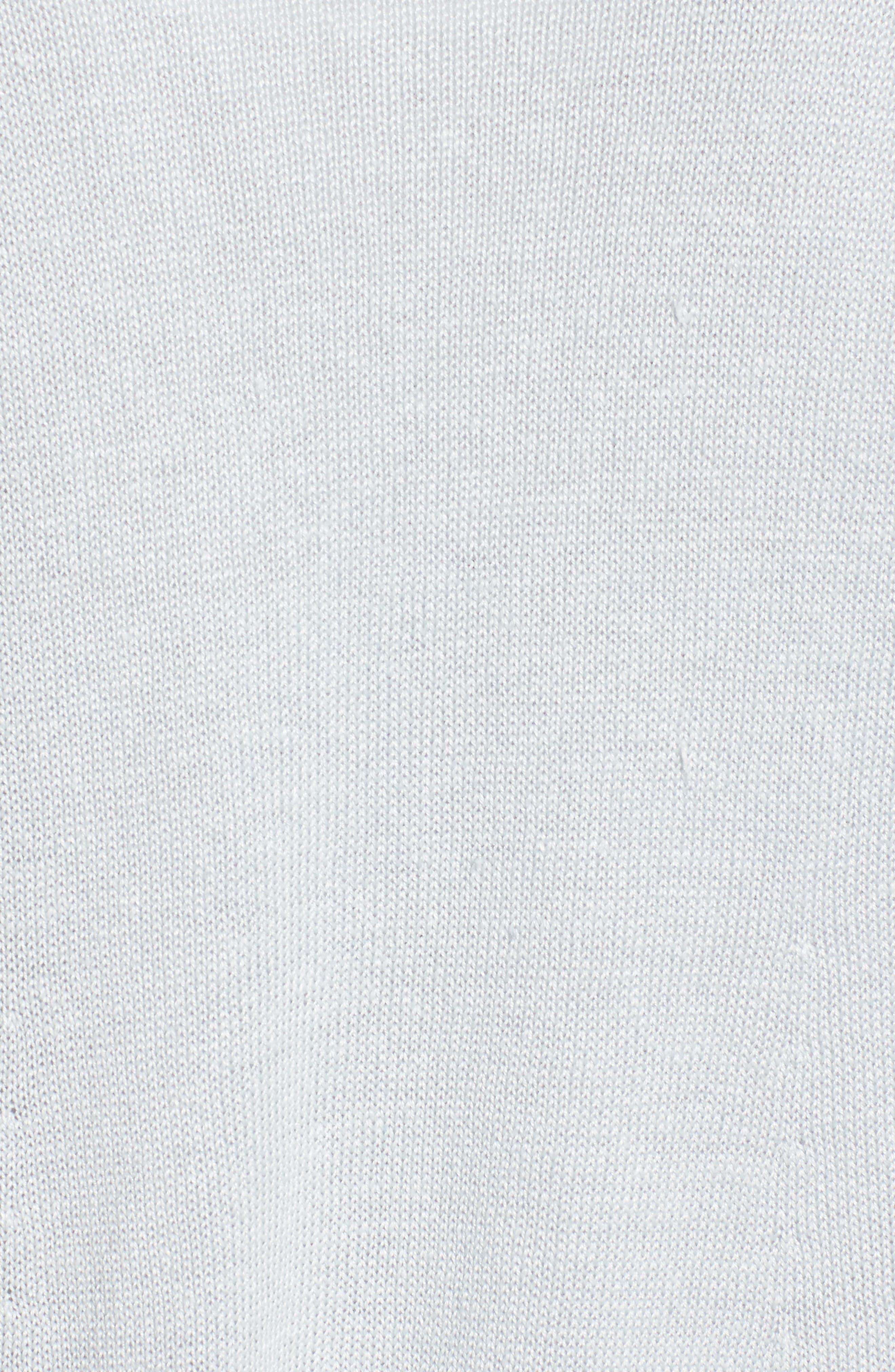 Alternate Image 5  - Eileen Fisher Organic Linen Open Front Cardigan