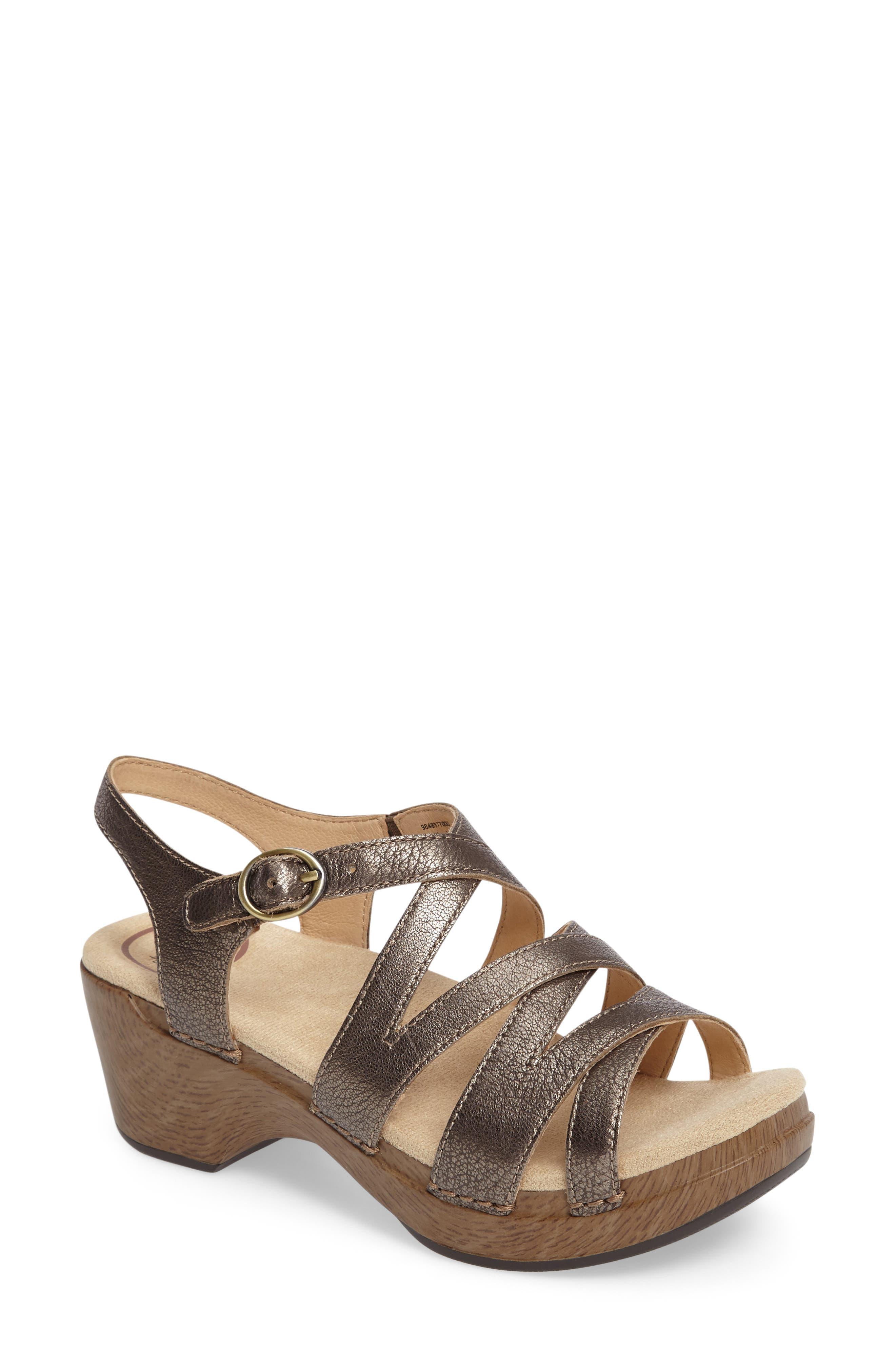 Dansko 'Stevie' Platform Sandal (Women)