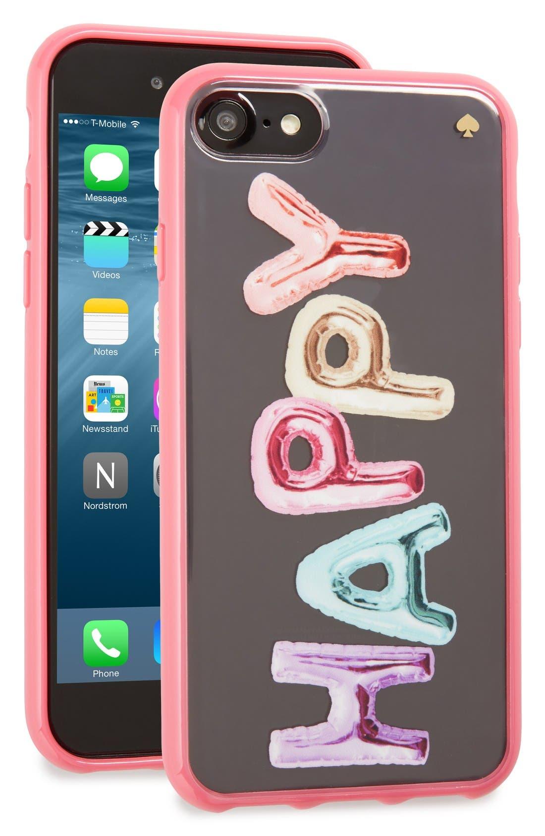 Main Image - kate spade new york happy iPhone 7 case